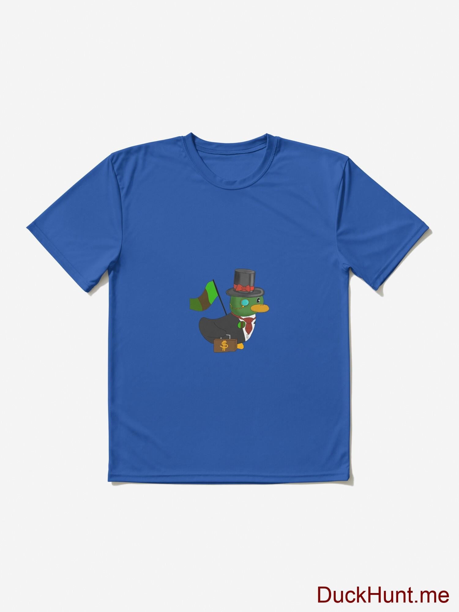 Golden Duck Royal Blue Active T-Shirt (Front printed) alternative image 2