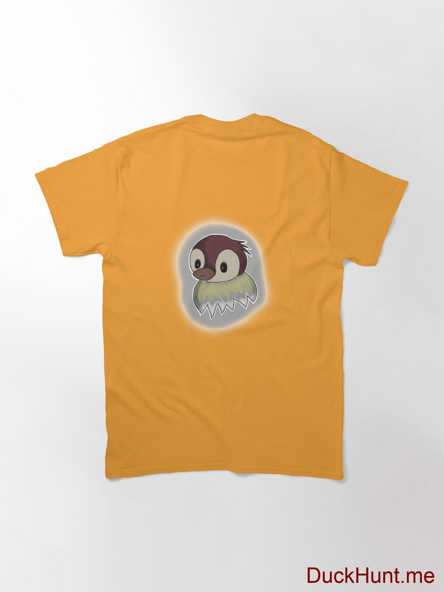 Ghost Duck (foggy) Gold Classic T-Shirt (Back printed) alternative image 1