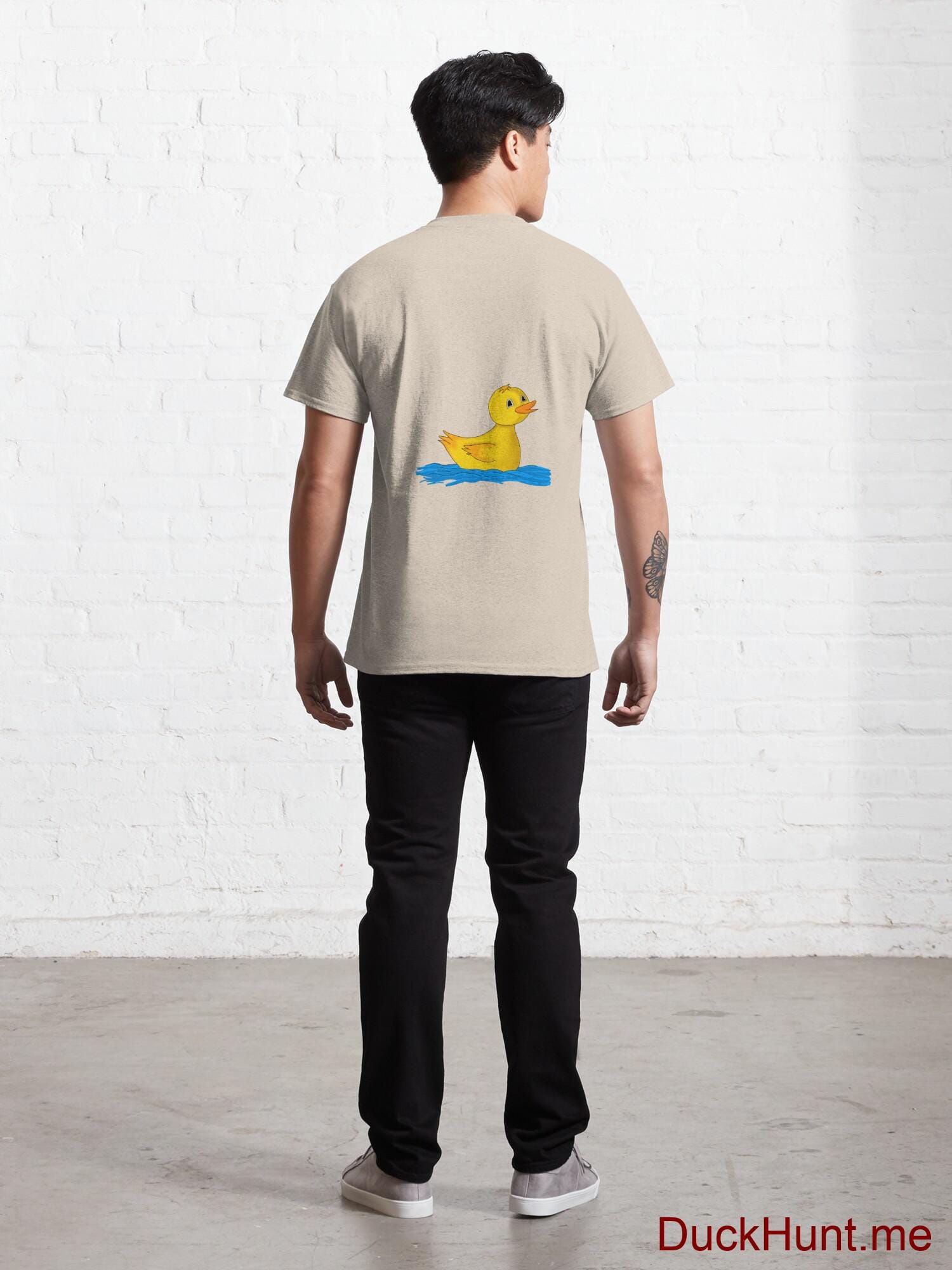 Plastic Duck Creme Classic T-Shirt (Back printed) alternative image 3
