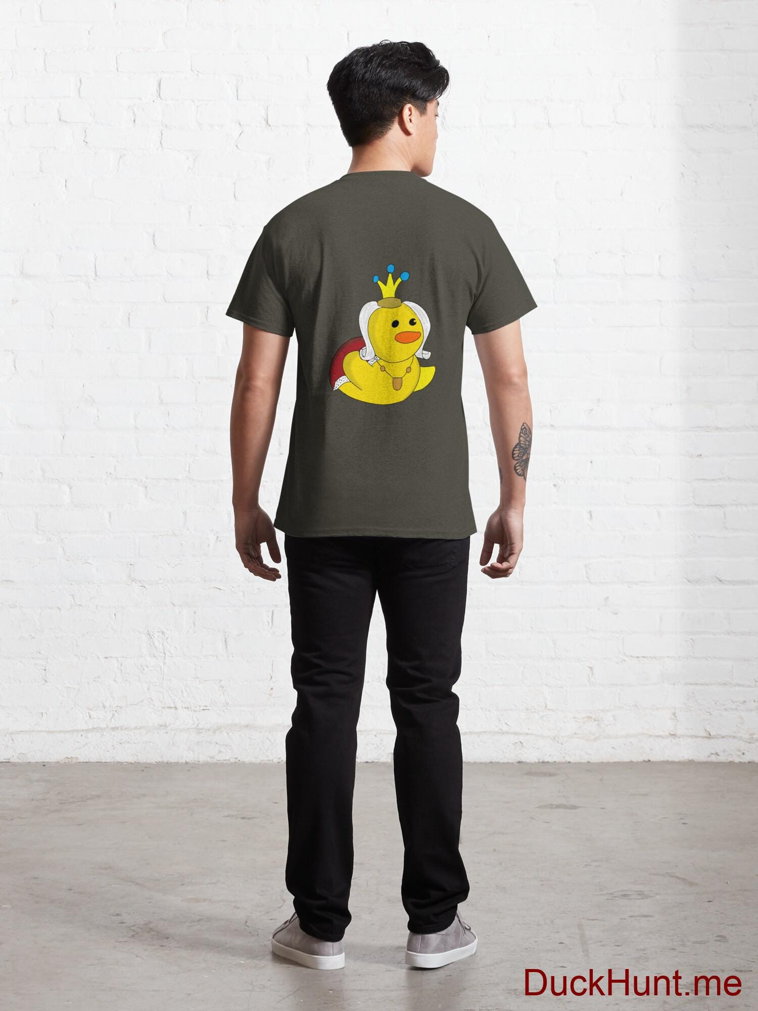 Royal Duck Army Classic T-Shirt (Back printed) alternative image 3