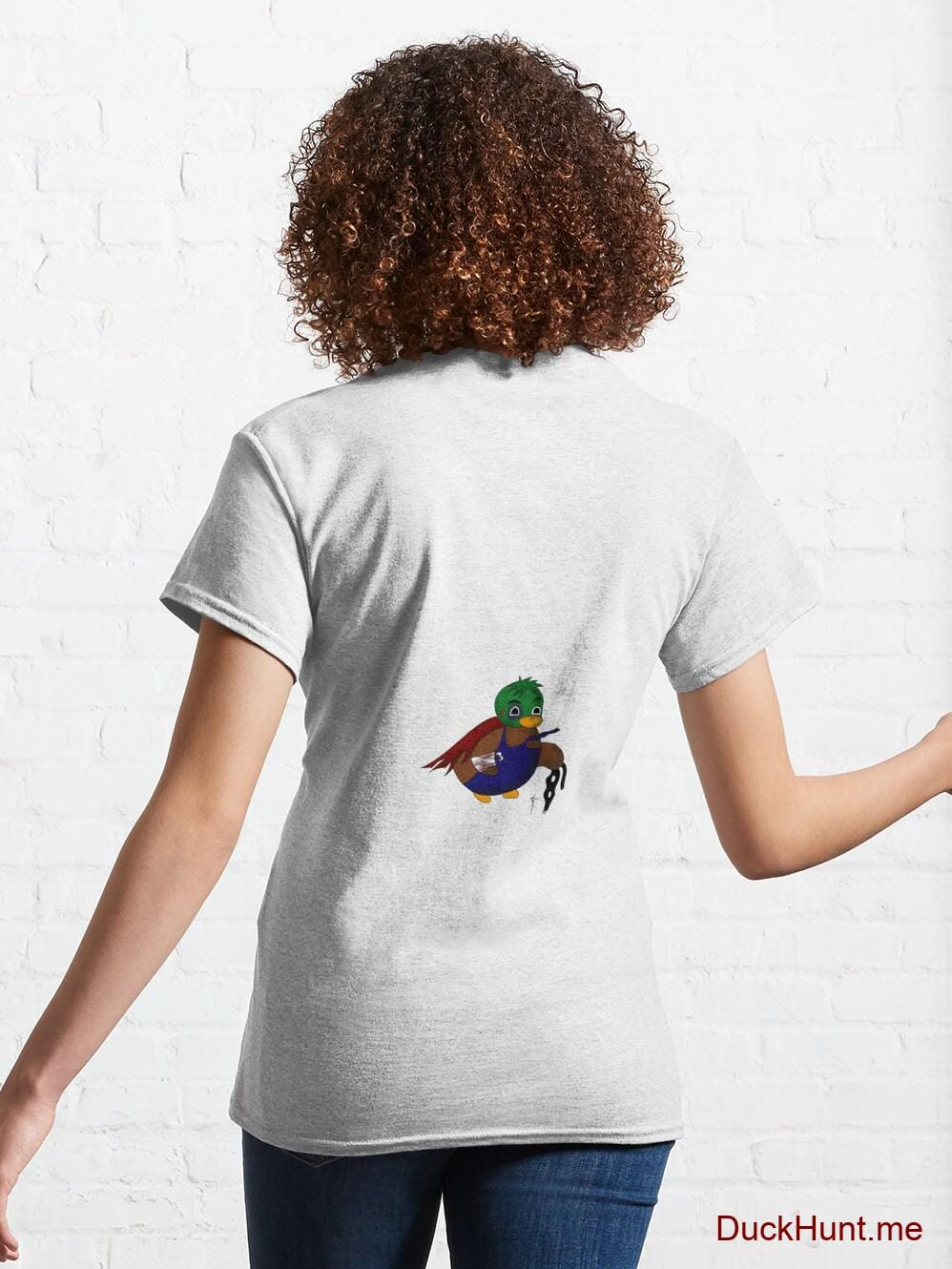 Dead DuckHunt Boss (smokeless) White Classic T-Shirt (Back printed) alternative image 4