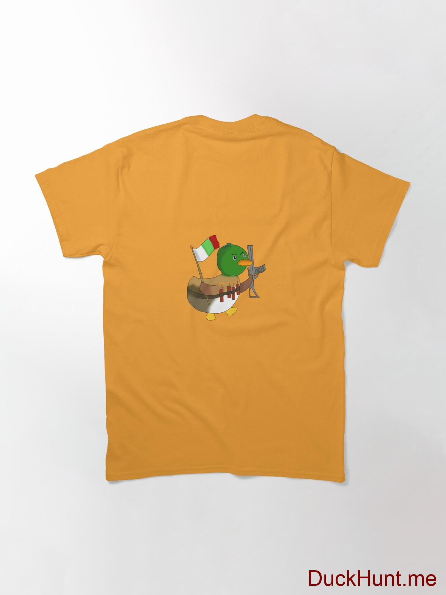 Kamikaze Duck Gold Classic T-Shirt (Back printed) alternative image 1