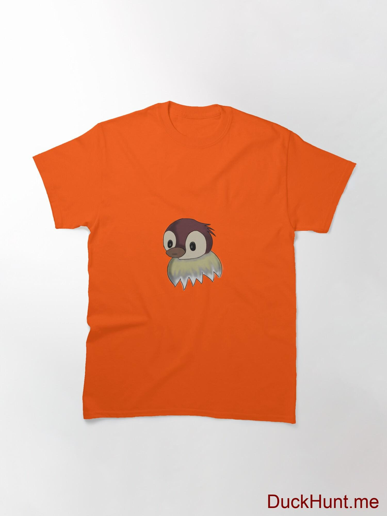 Ghost Duck (fogless) Orange Classic T-Shirt (Front printed) alternative image 2