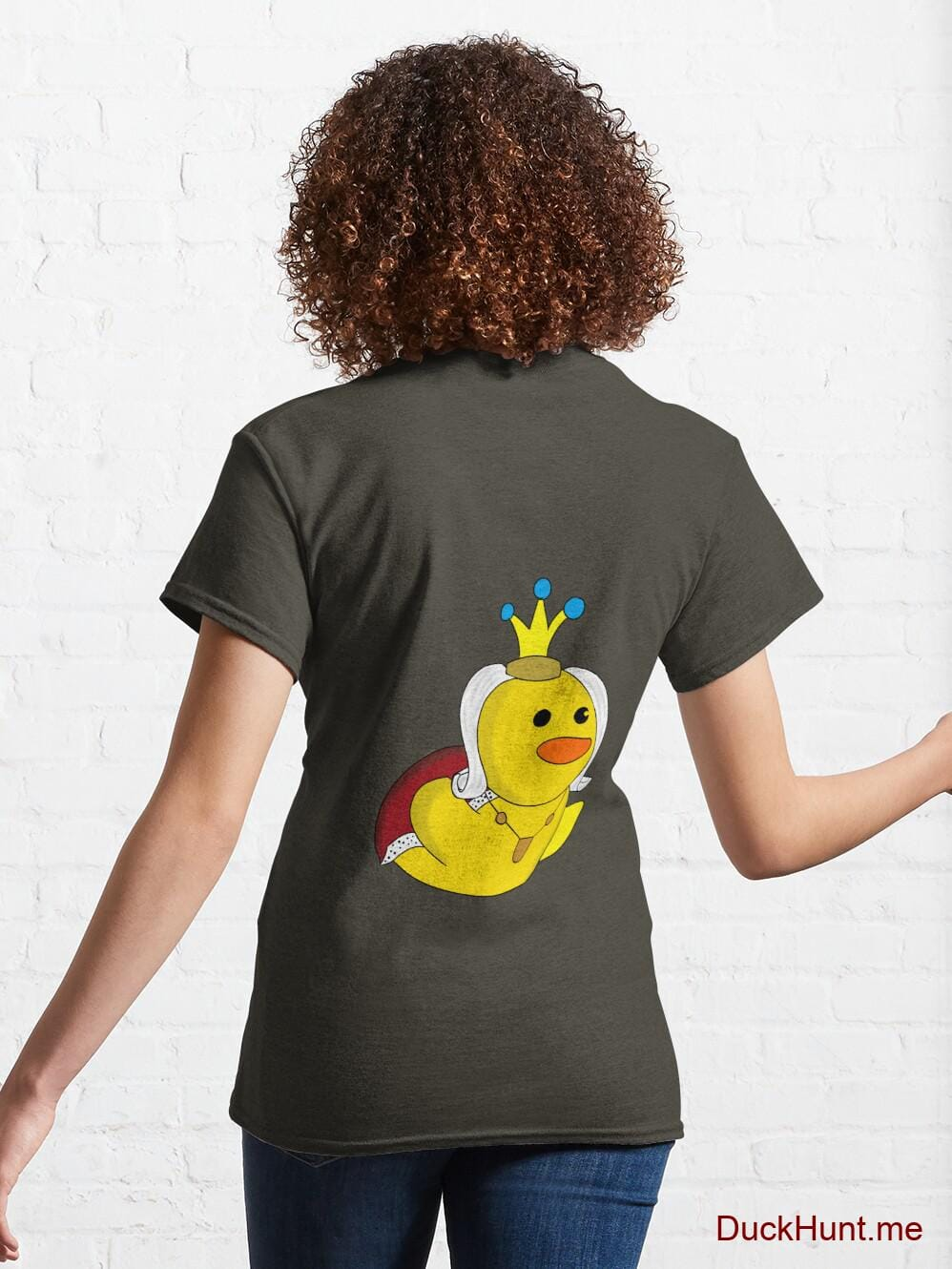 Royal Duck Army Classic T-Shirt (Back printed) alternative image 4