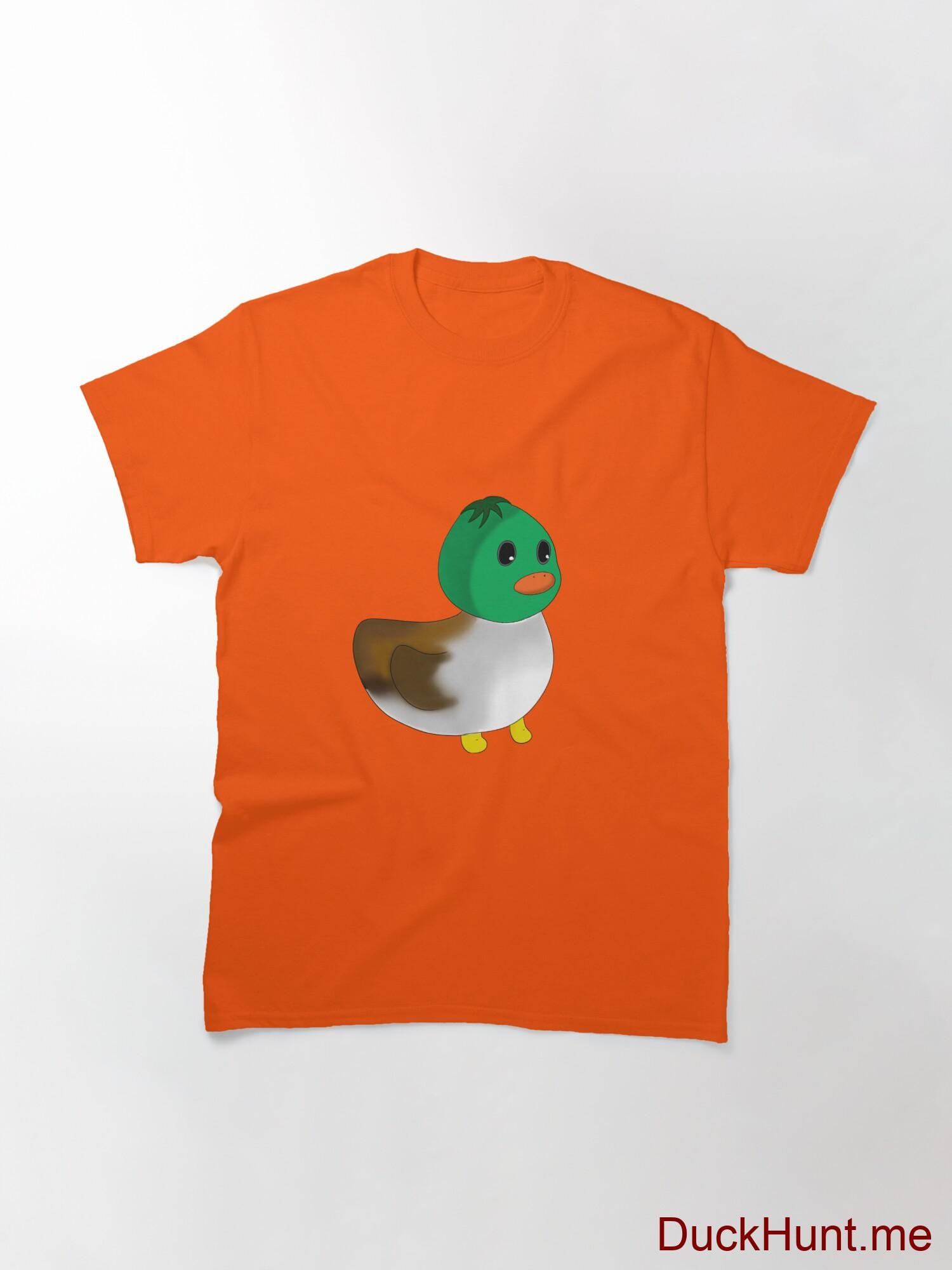 Normal Duck Orange Classic T-Shirt (Front printed) alternative image 2
