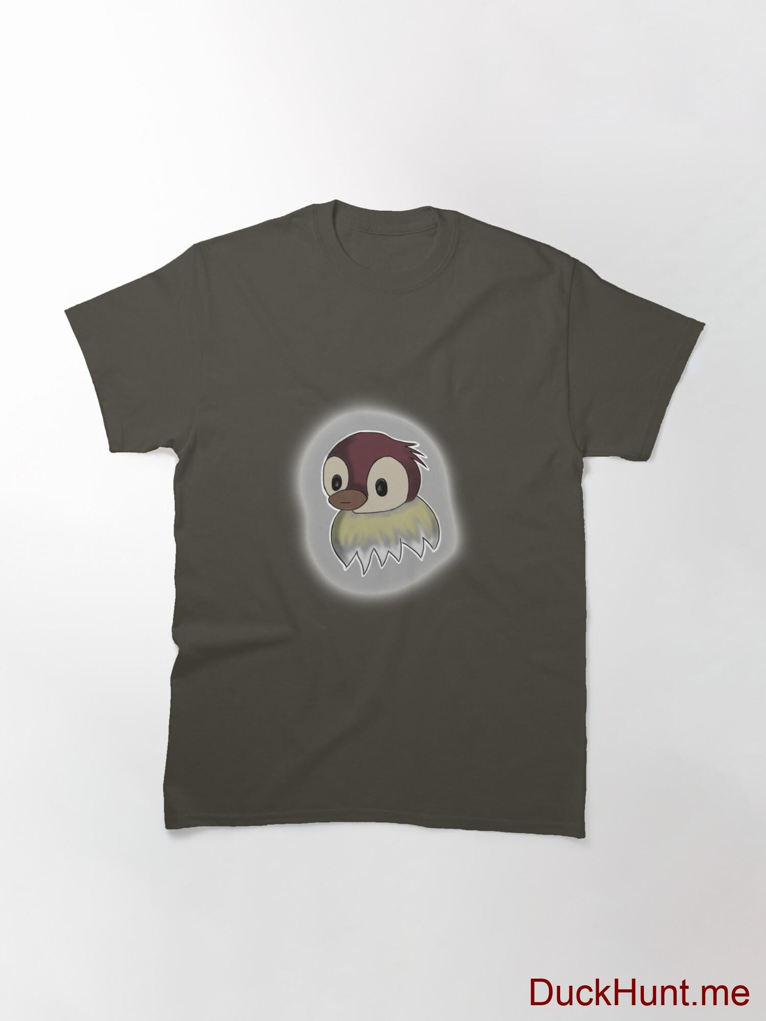 Ghost Duck (foggy) Army Classic T-Shirt (Front printed) alternative image 2