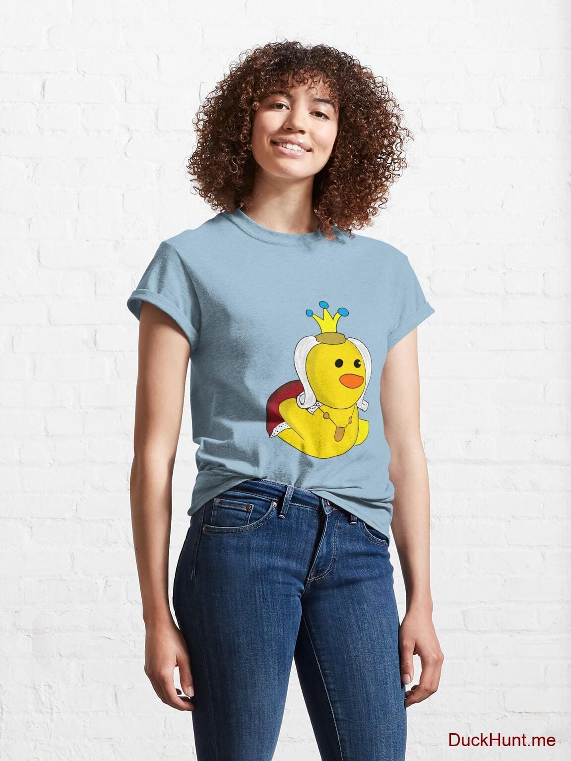Royal Duck Light Blue Classic T-Shirt (Front printed) alternative image 3