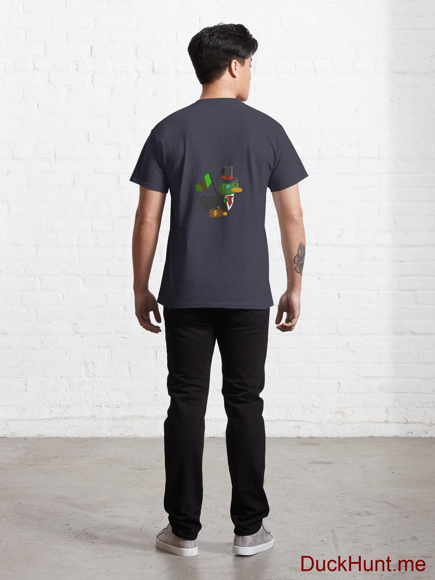 Golden Duck Navy Classic T-Shirt (Back printed) alternative image 3