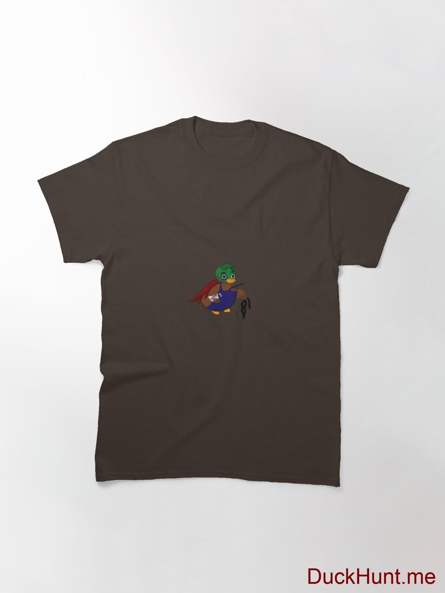 Dead DuckHunt Boss (smokeless) Brown Classic T-Shirt (Front printed) alternative image 2