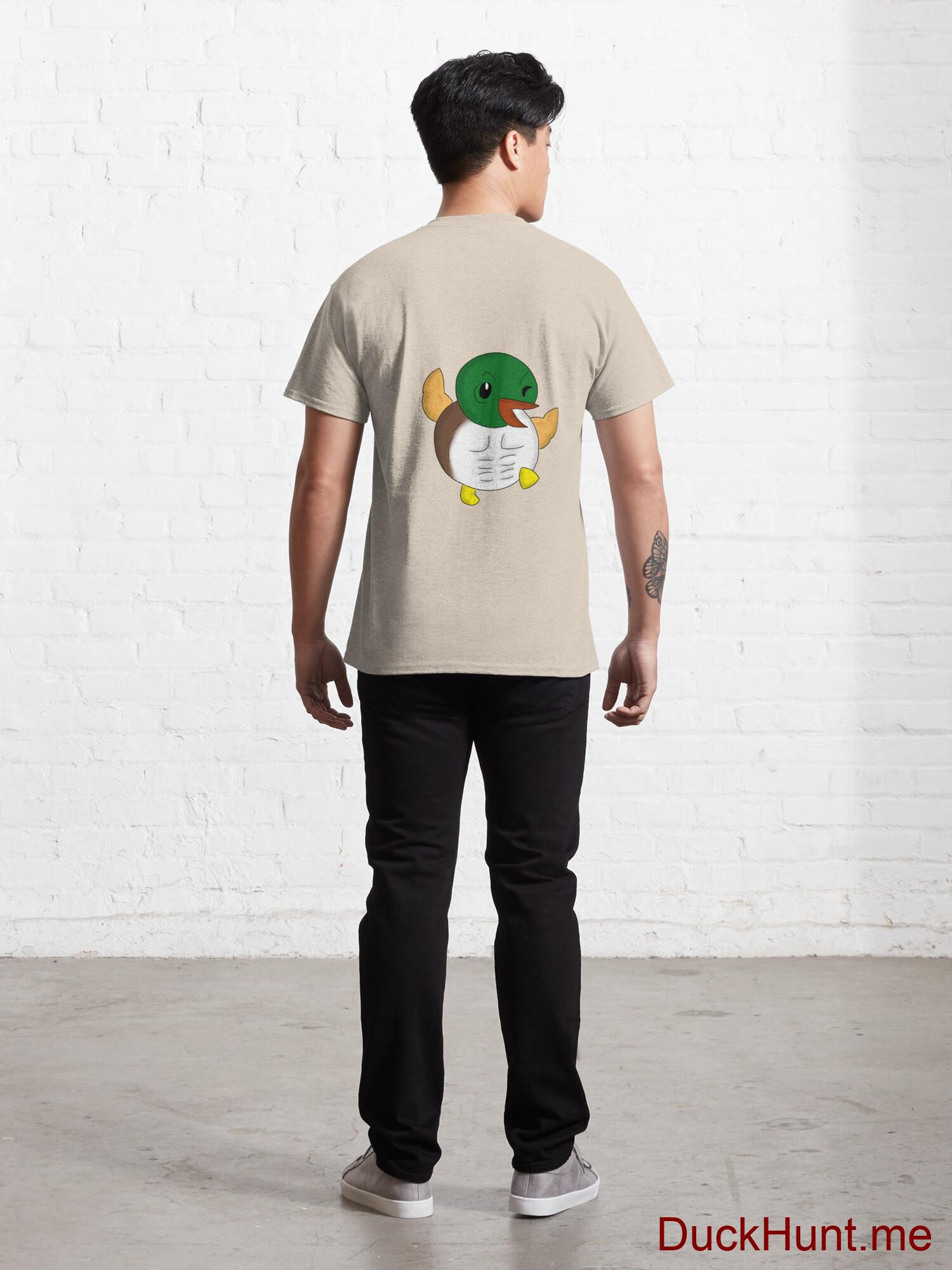 Super duck Creme Classic T-Shirt (Back printed) alternative image 3