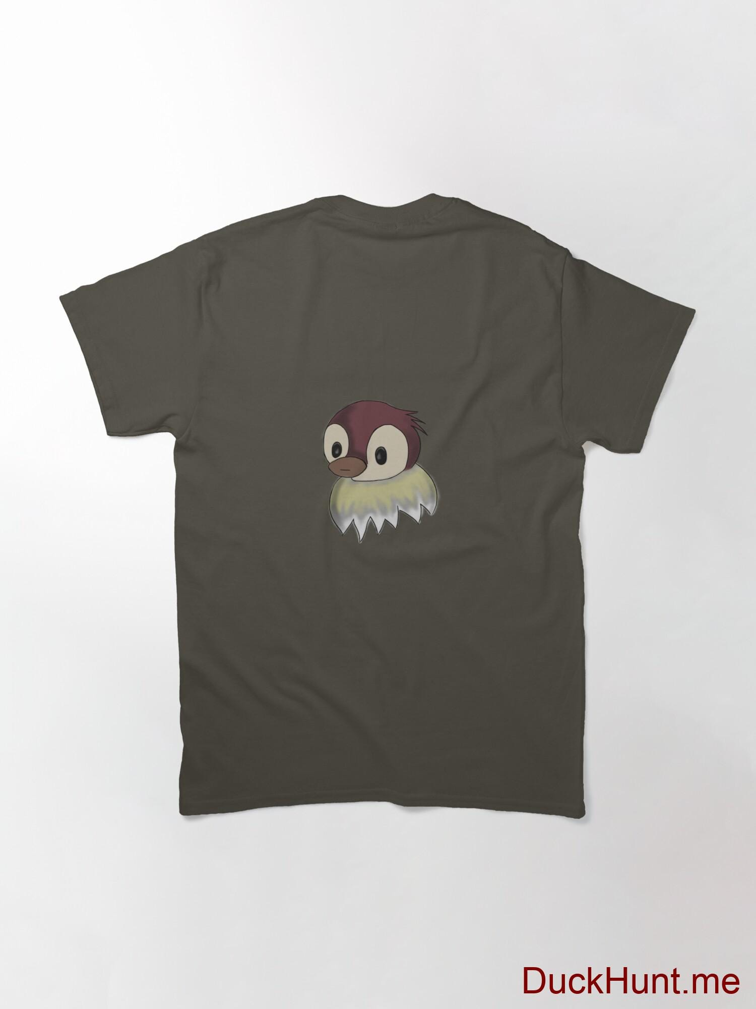 Ghost Duck (fogless) Army Classic T-Shirt (Back printed) alternative image 1