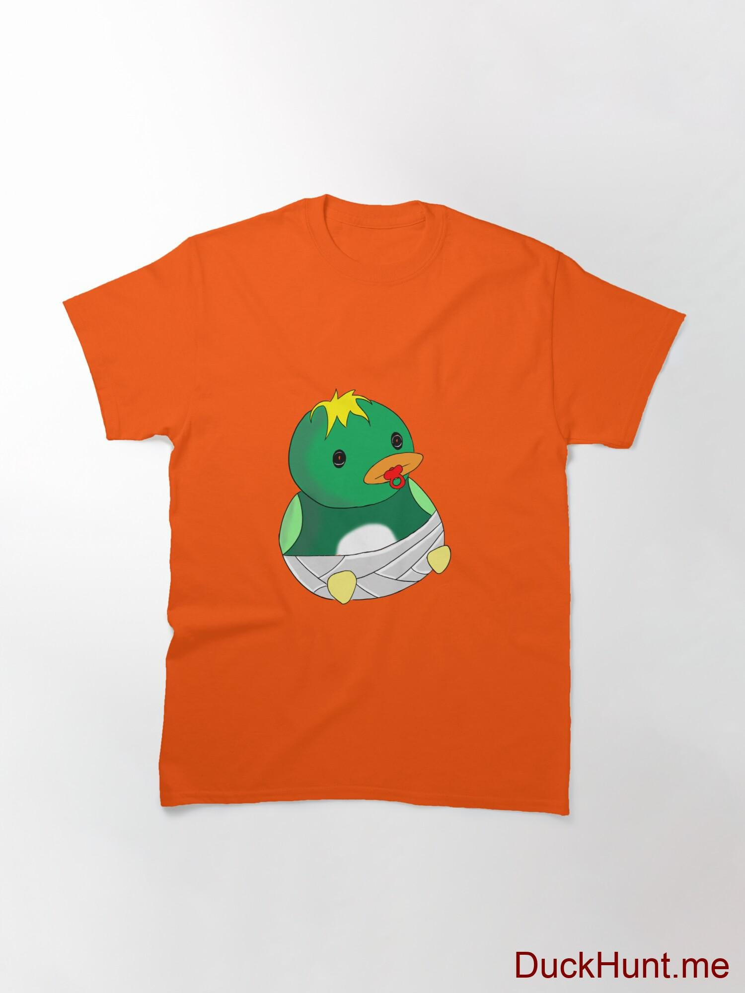 Baby duck Orange Classic T-Shirt (Front printed) alternative image 2