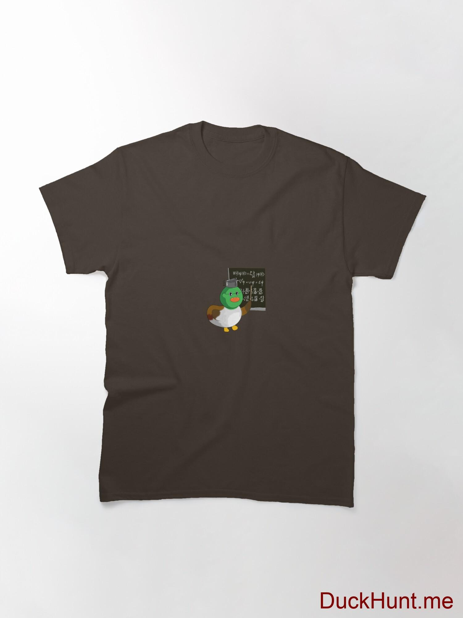 Prof Duck Brown Classic T-Shirt (Front printed) alternative image 2