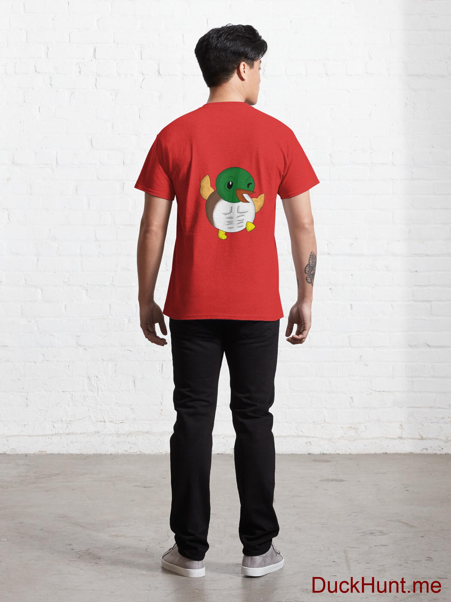 Super duck Red Classic T-Shirt (Back printed) alternative image 3