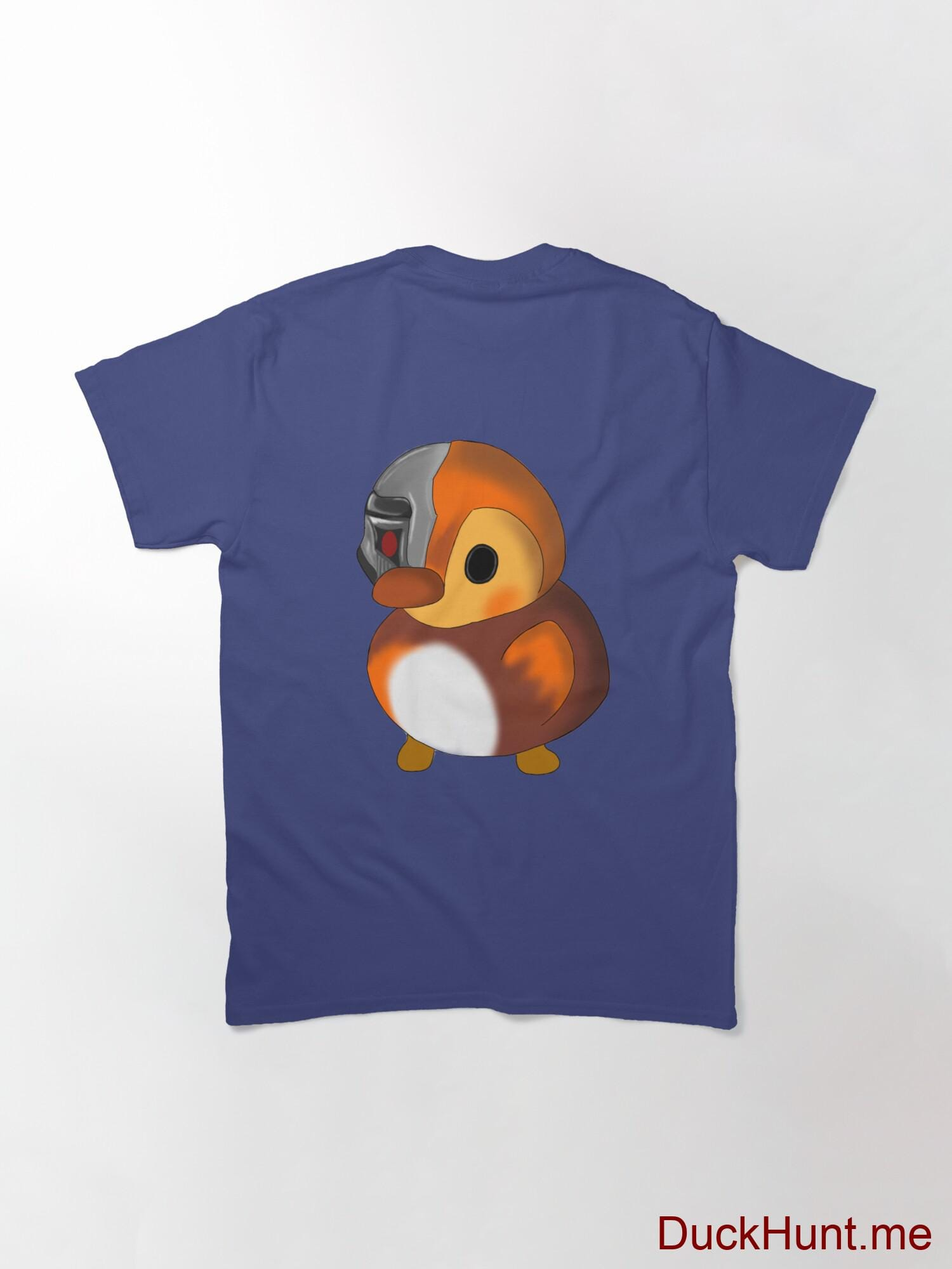 Mechanical Duck Blue Classic T-Shirt (Back printed) alternative image 1