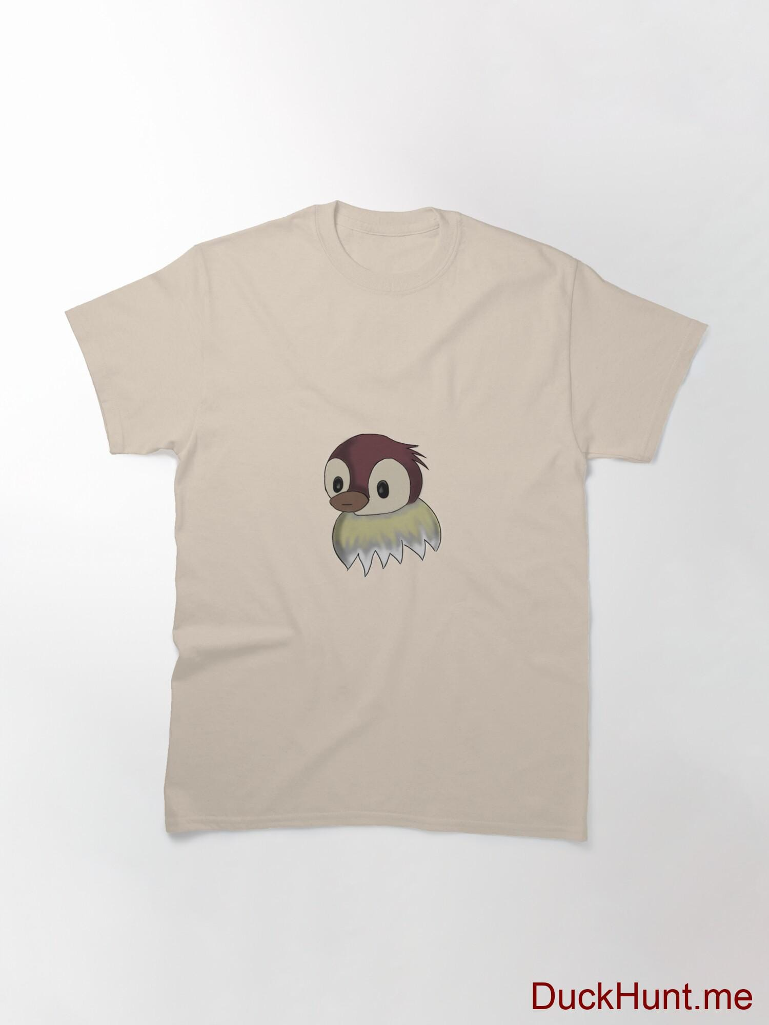 Ghost Duck (fogless) Creme Classic T-Shirt (Front printed) alternative image 2