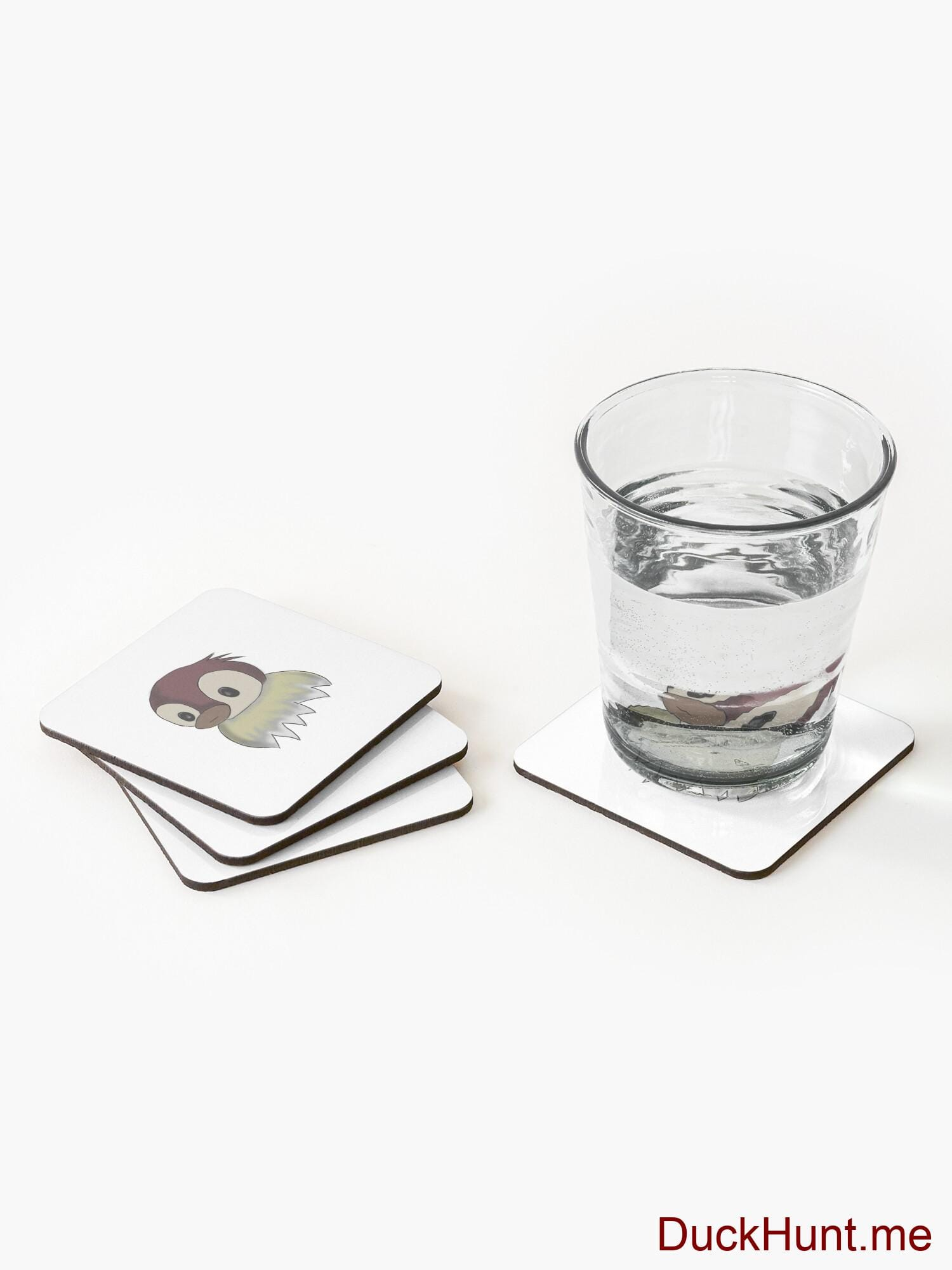 Ghost Duck (fogless) Coasters (Set of 4) alternative image 1