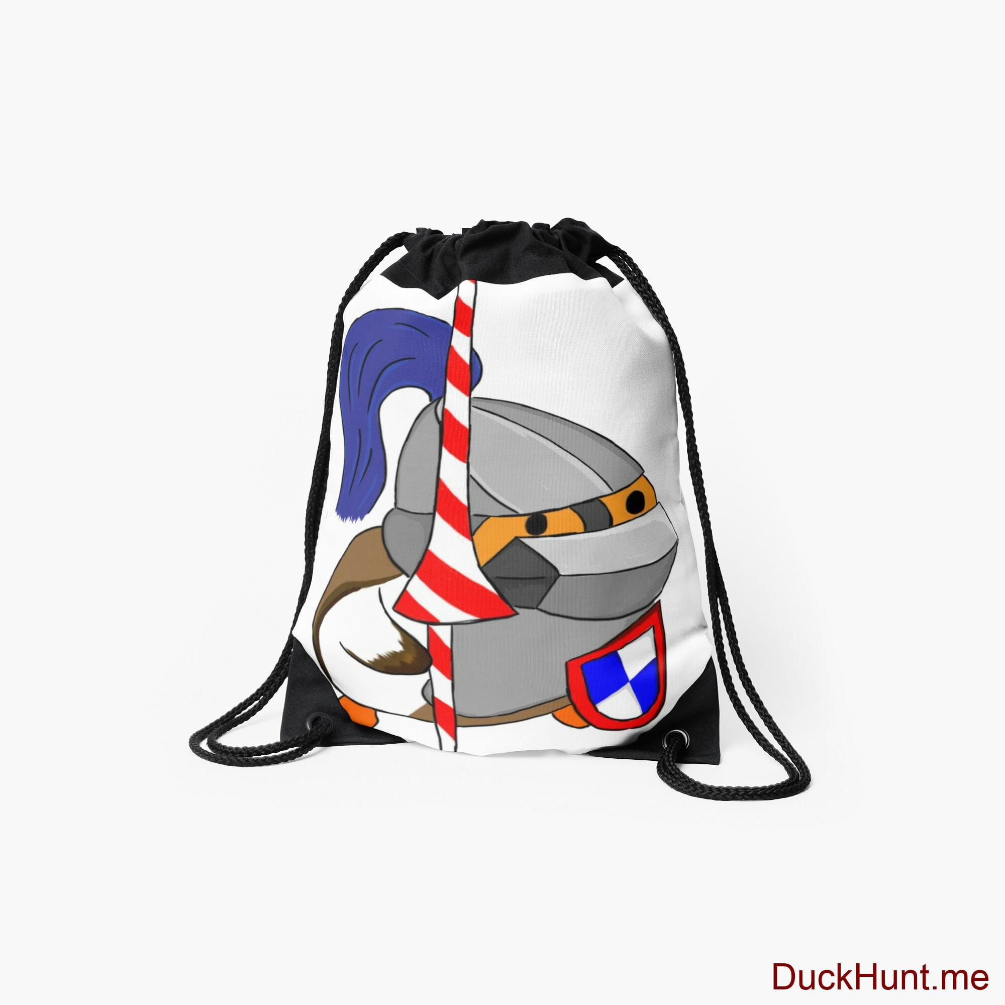 Armored Duck Drawstring Bag