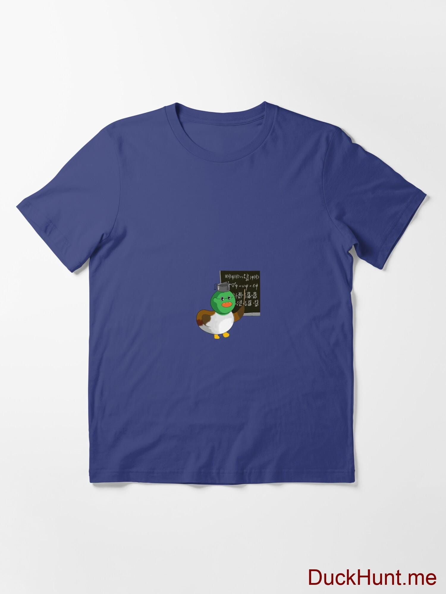 Prof Duck Blue Essential T-Shirt (Front printed) alternative image 2