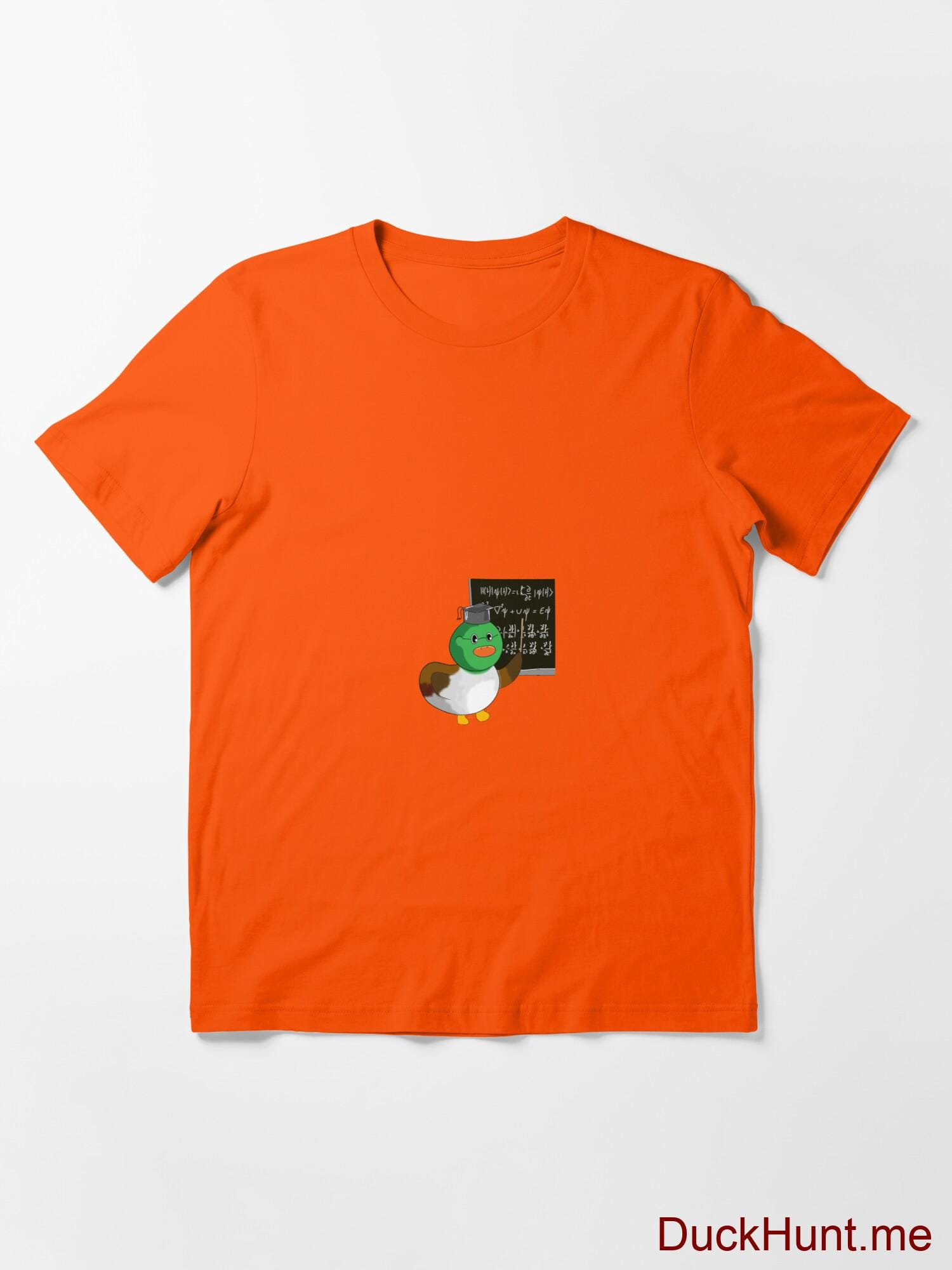 Prof Duck Orange Essential T-Shirt (Front printed) alternative image 2