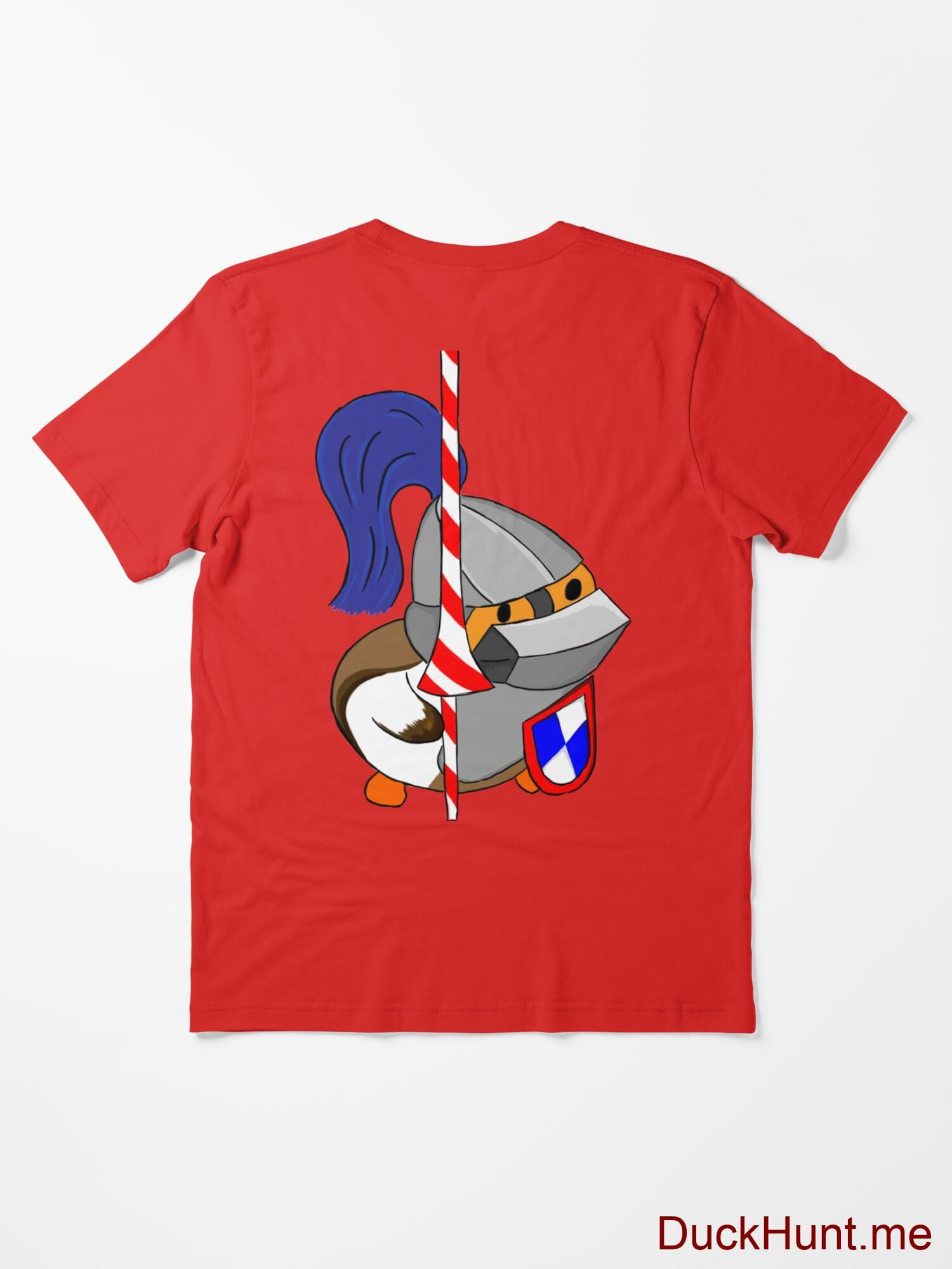 Armored Duck Red Essential T-Shirt (Back printed) alternative image 1