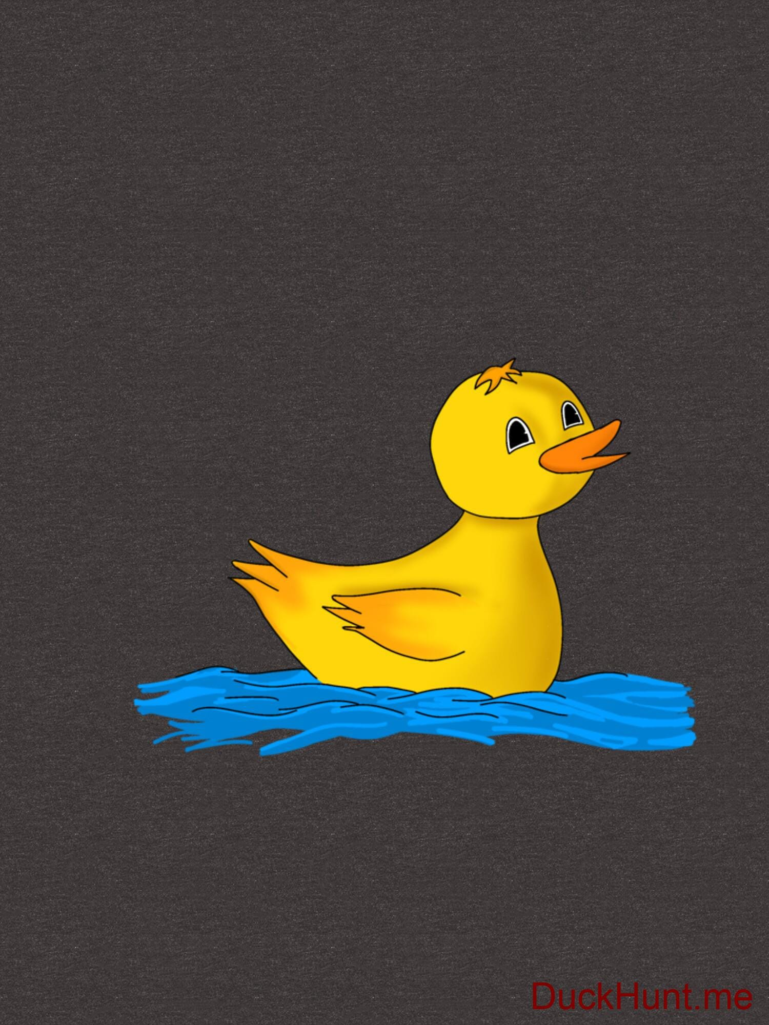 Plastic Duck Charcoal Heather Essential T-Shirt (Back printed) alternative image 2