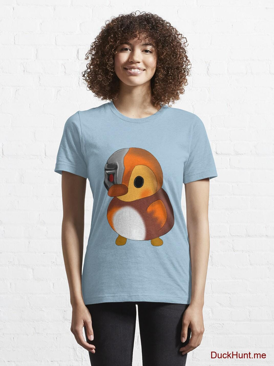 Mechanical Duck Light Blue Essential T-Shirt (Front printed) alternative image 5