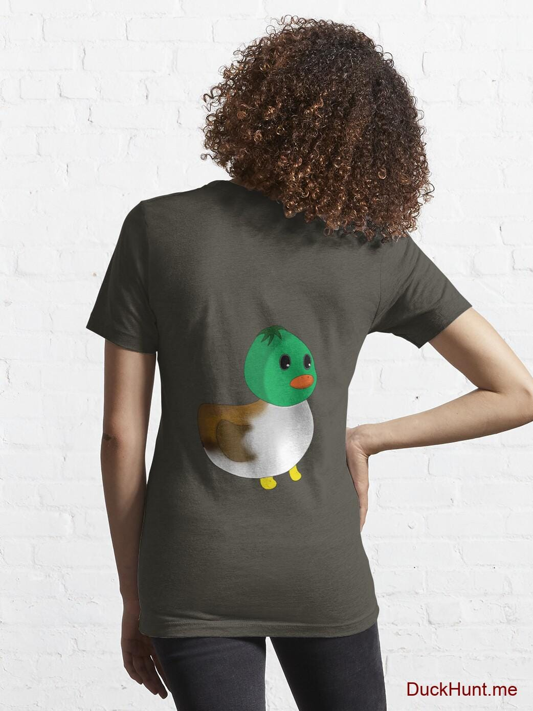 Normal Duck Army Essential T-Shirt (Back printed) alternative image 4