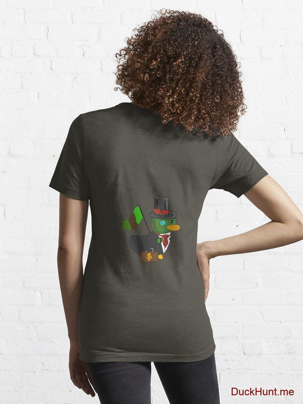 Golden Duck Army Essential T-Shirt (Back printed) alternative image 4