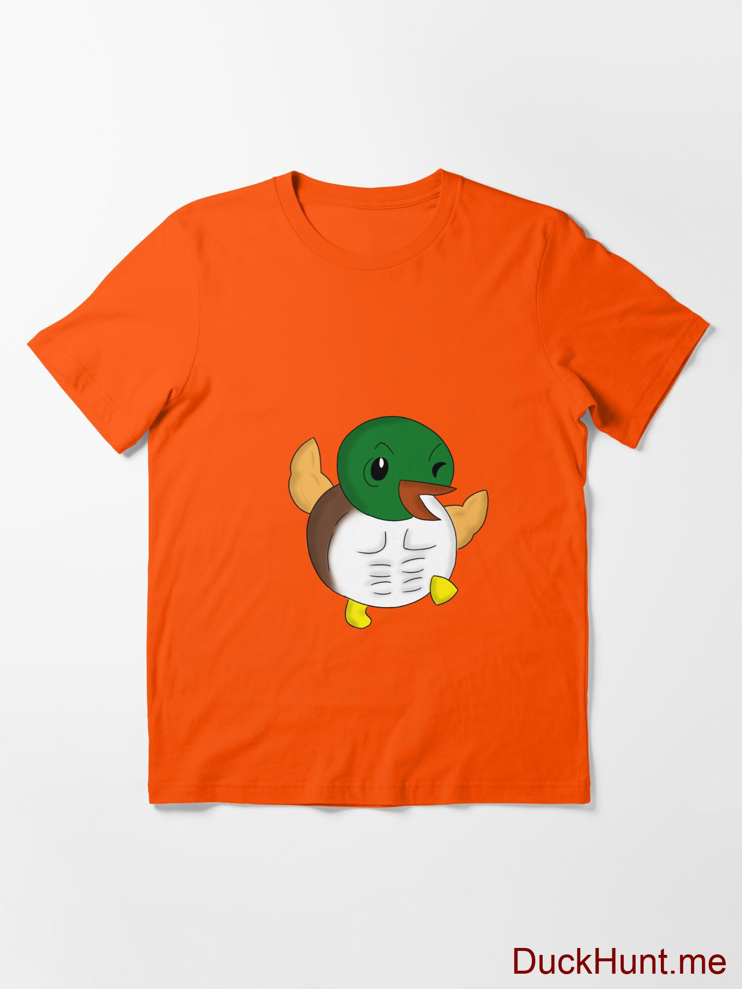 Super duck Orange Essential T-Shirt (Front printed) alternative image 2