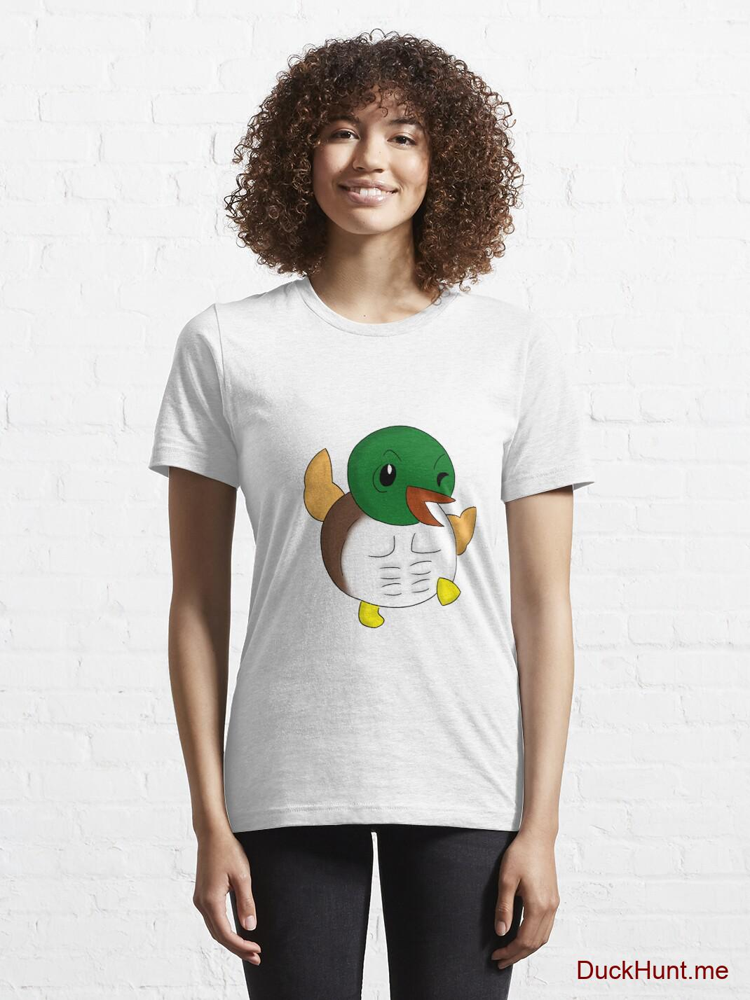 Super duck White Essential T-Shirt (Front printed) alternative image 5