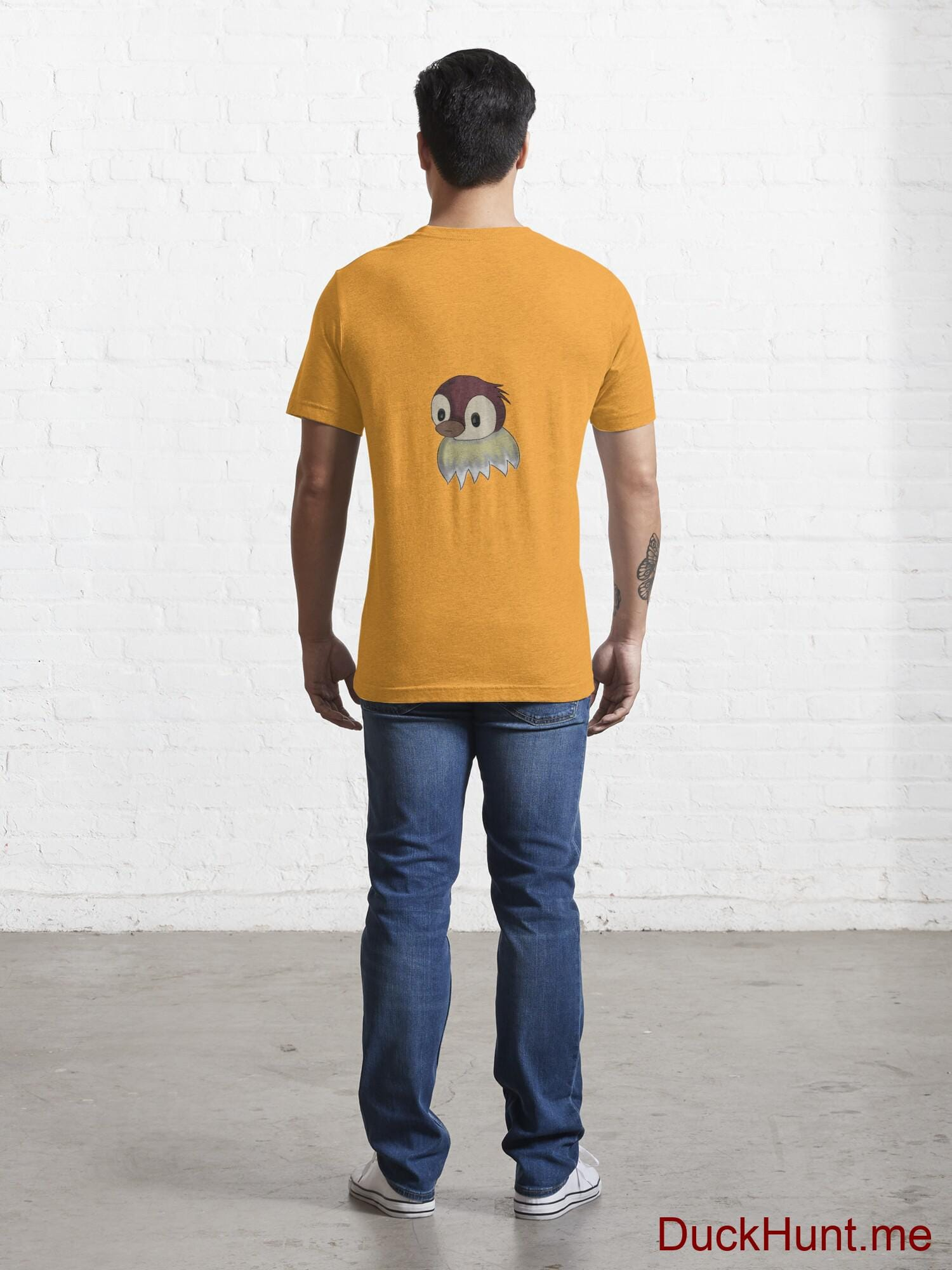 Ghost Duck (fogless) Gold Essential T-Shirt (Back printed) alternative image 3