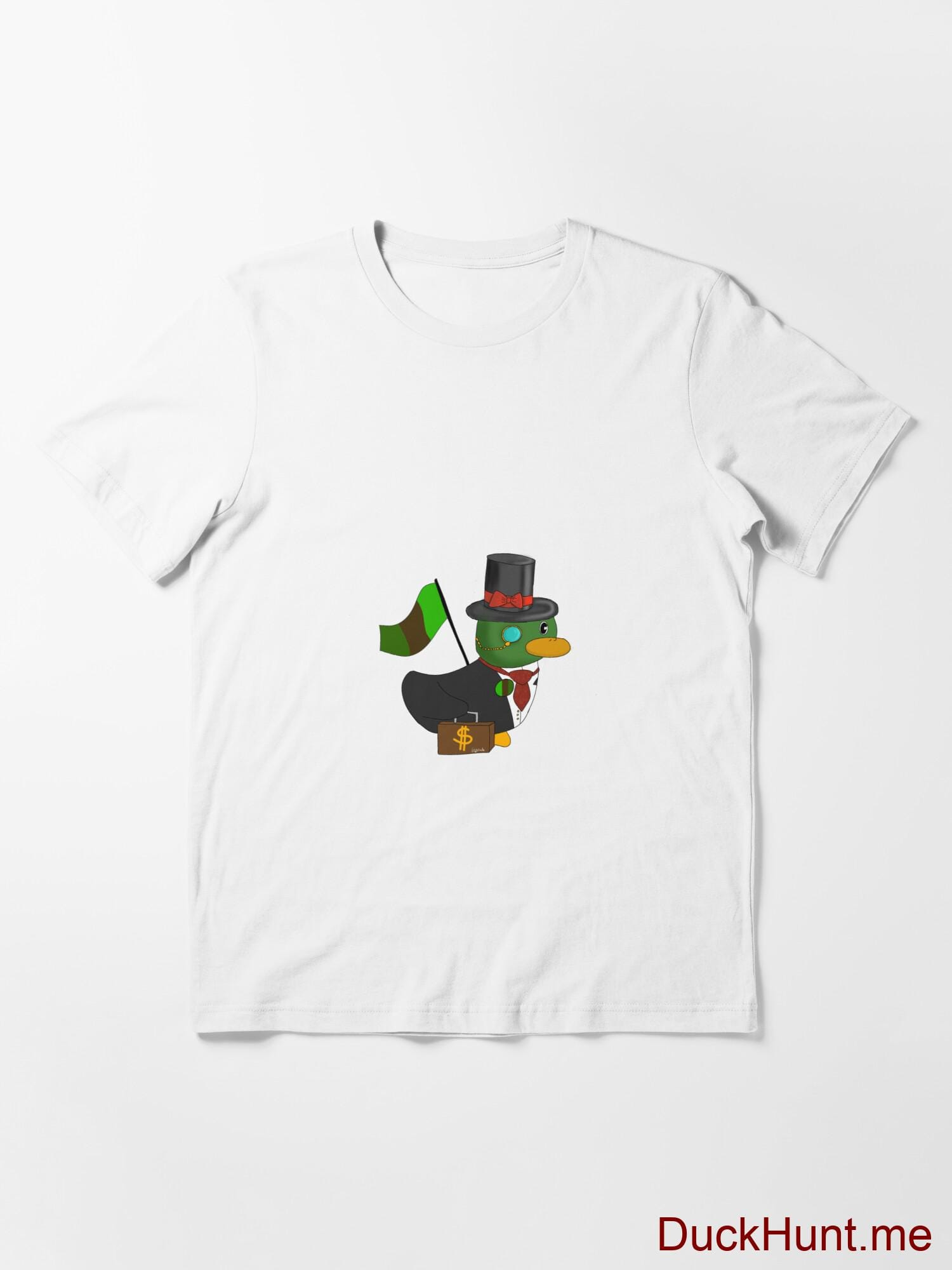 Golden Duck White Essential T-Shirt (Front printed) alternative image 2