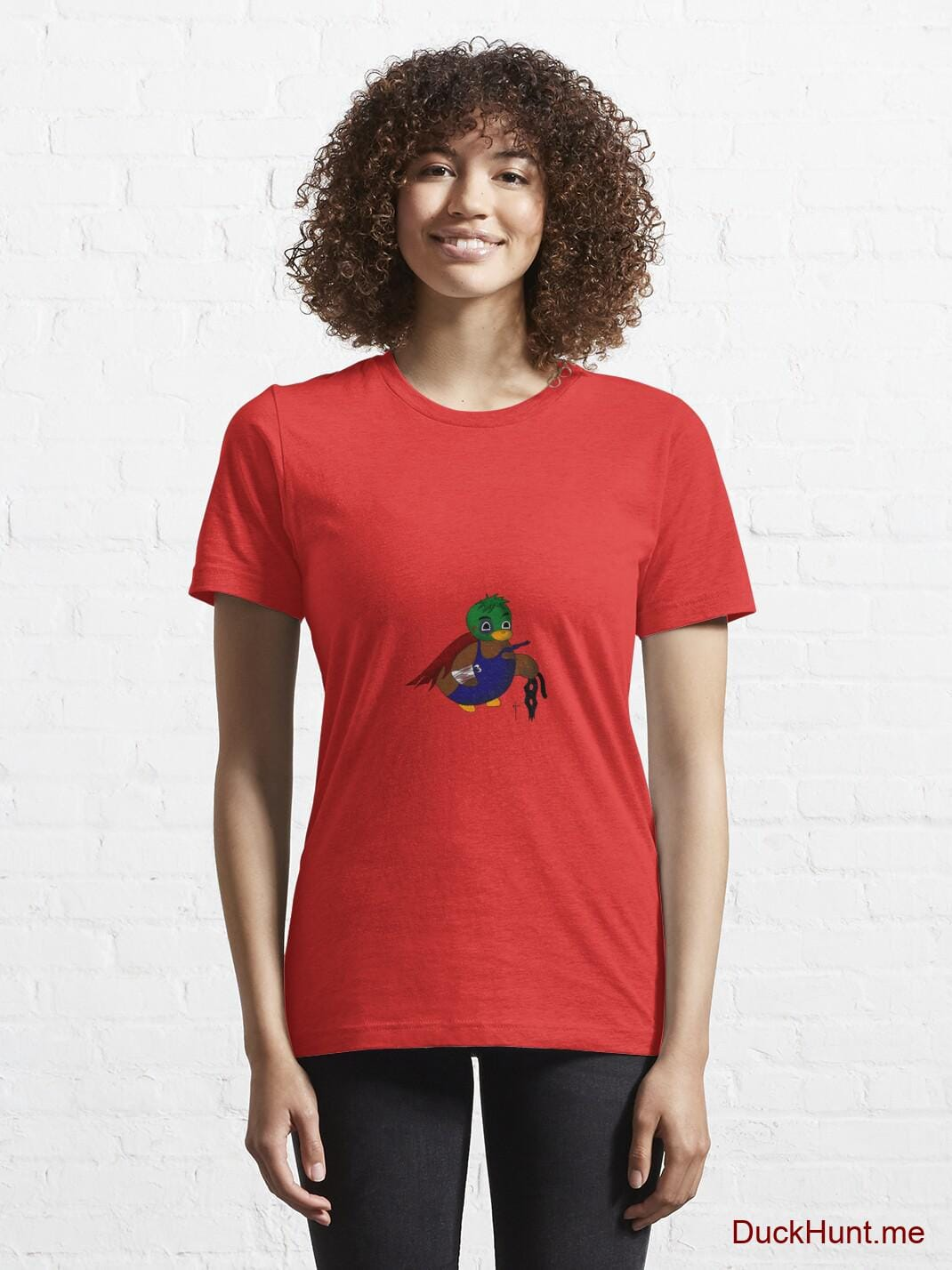Dead DuckHunt Boss (smokeless) Red Essential T-Shirt (Front printed) alternative image 5