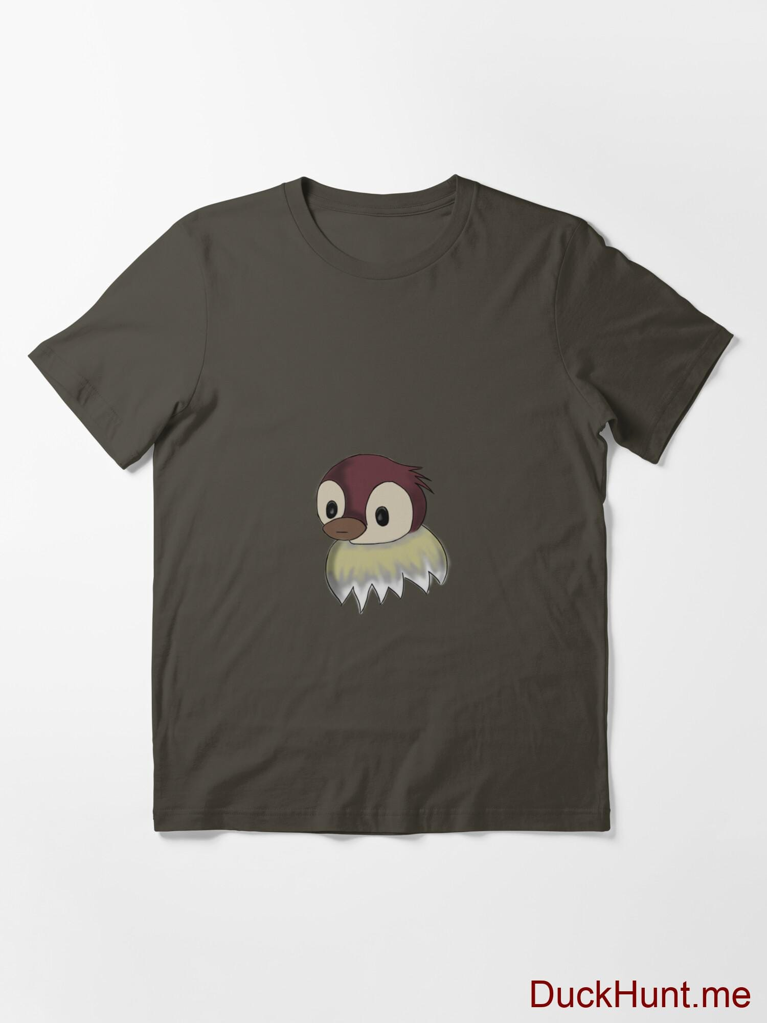 Ghost Duck (fogless) Army Essential T-Shirt (Front printed) alternative image 2