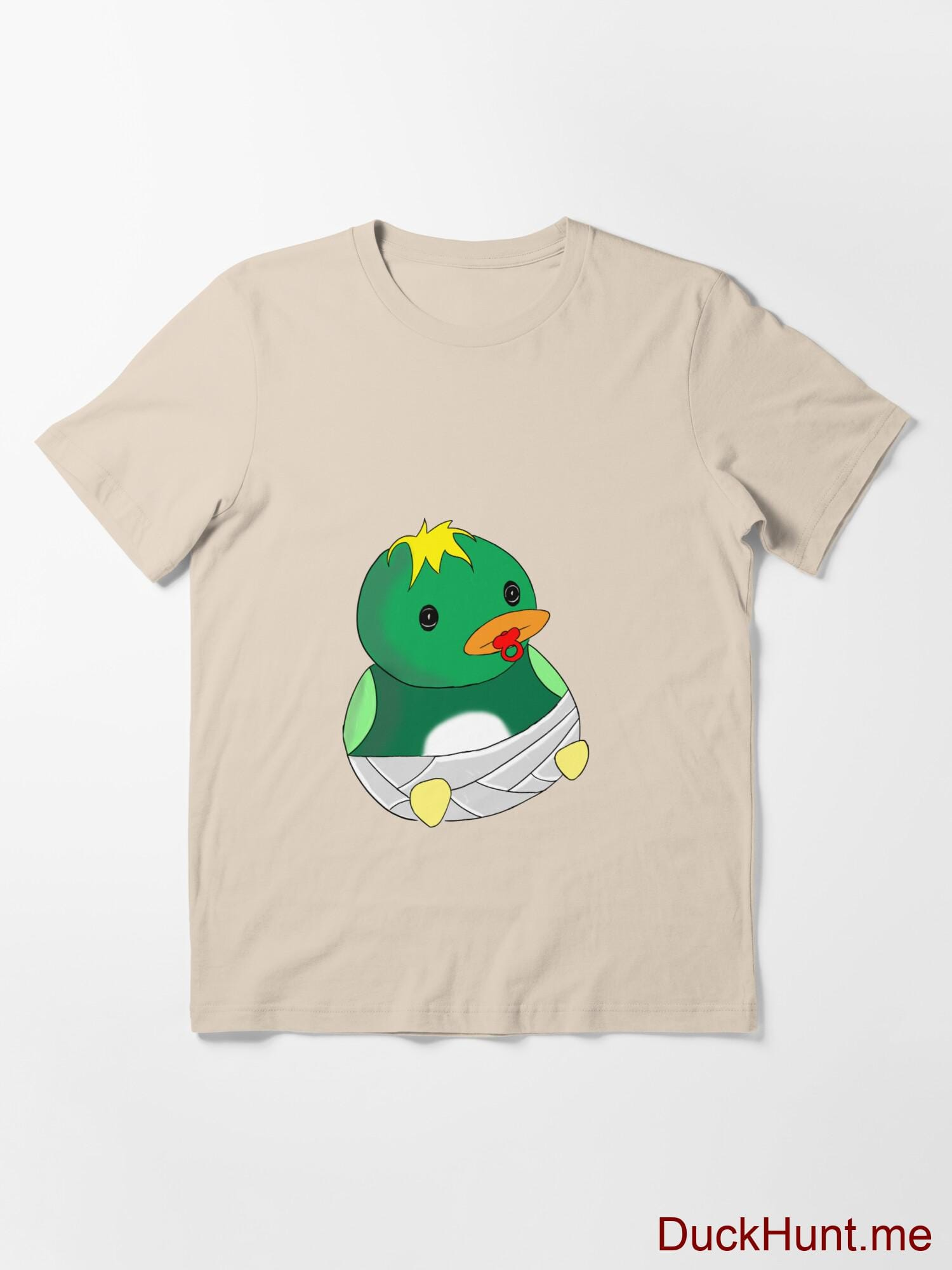 Baby duck Creme Essential T-Shirt (Front printed) alternative image 2