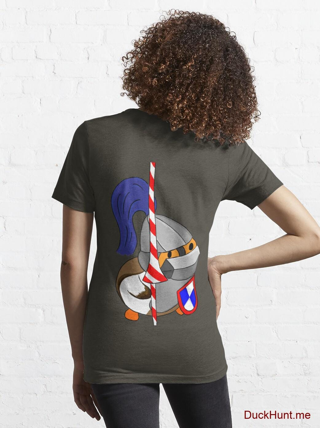 Armored Duck Army Essential T-Shirt (Back printed) alternative image 4