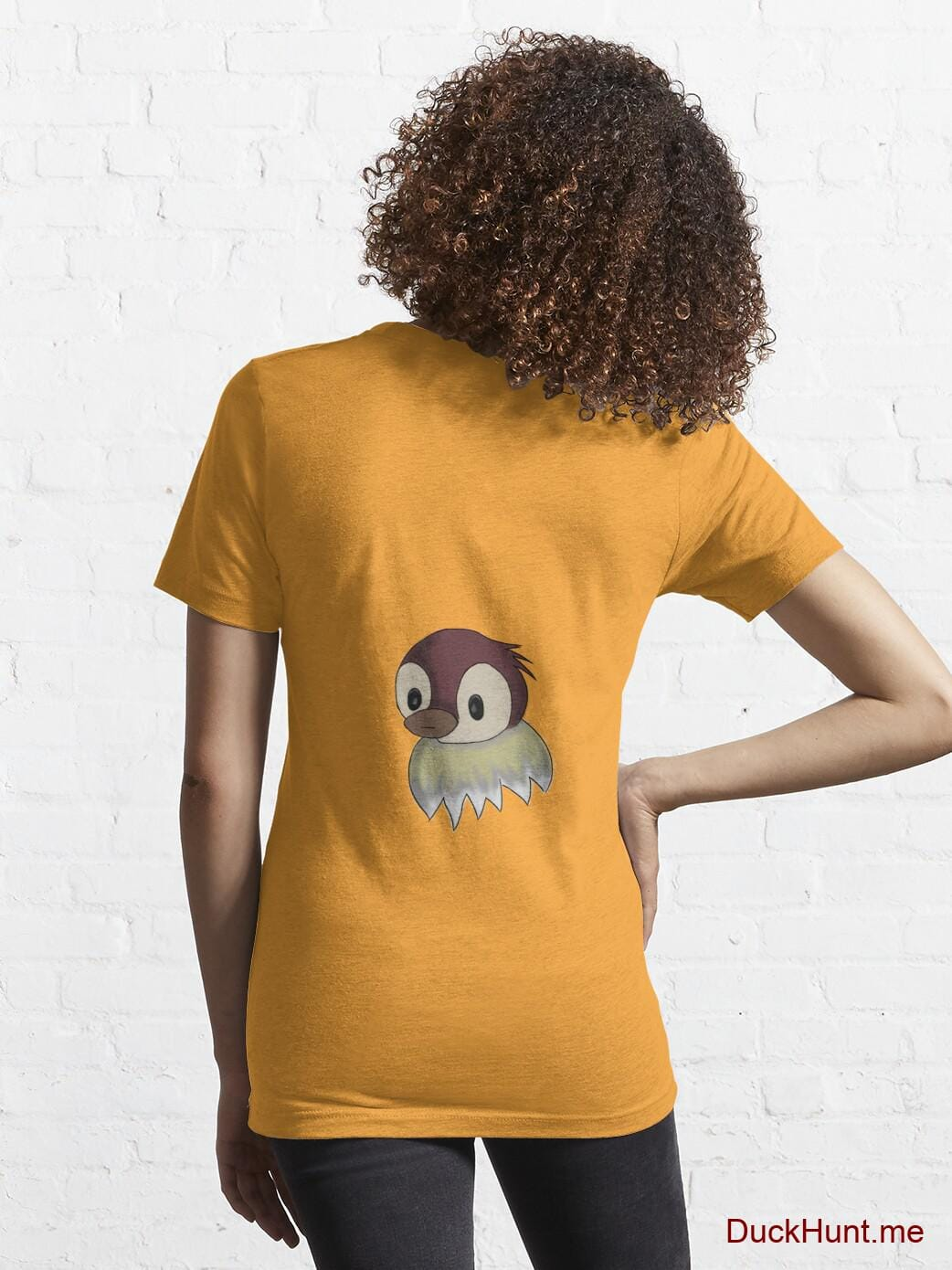Ghost Duck (fogless) Gold Essential T-Shirt (Back printed) alternative image 4