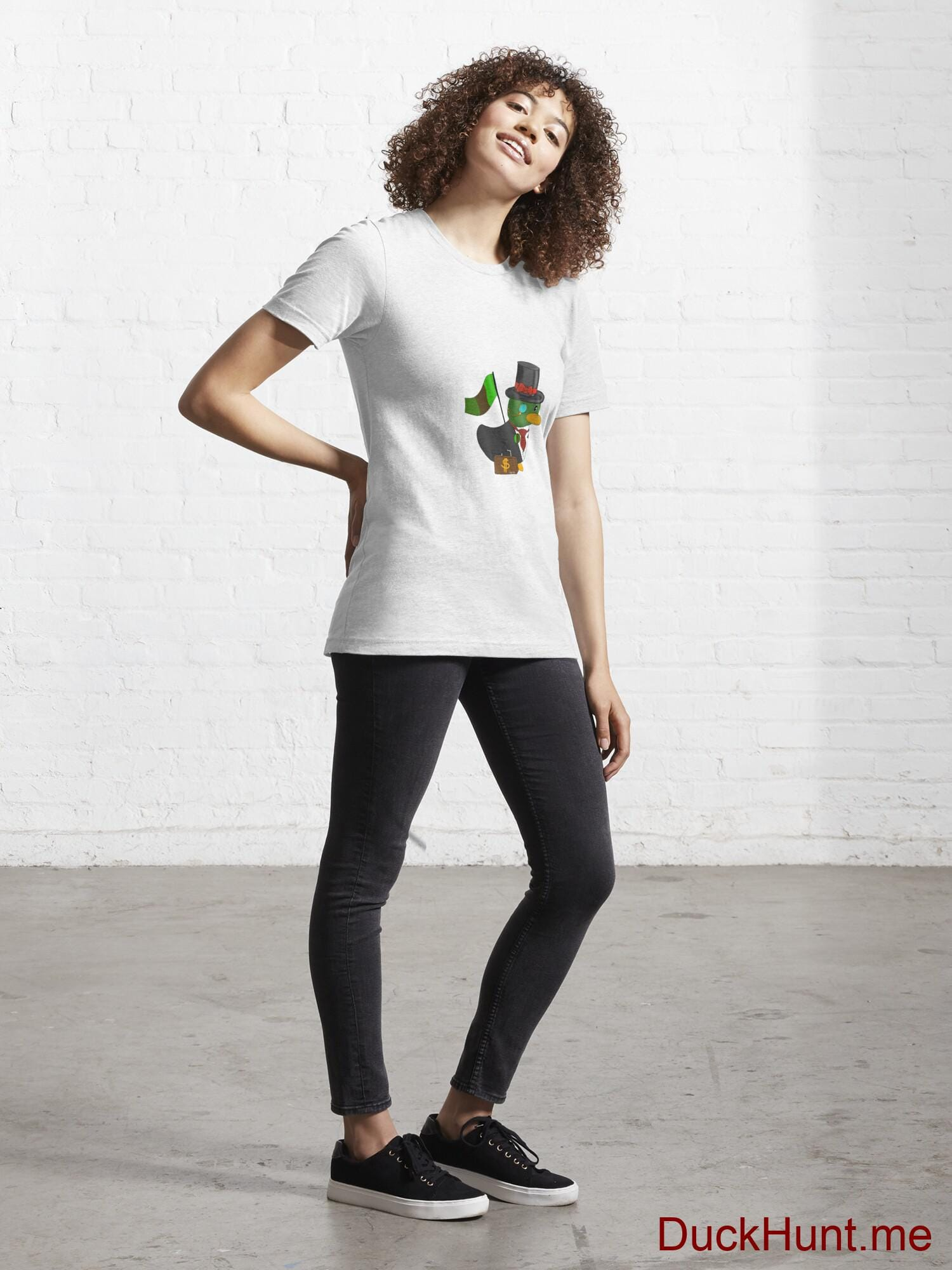 Golden Duck White Essential T-Shirt (Front printed) alternative image 3