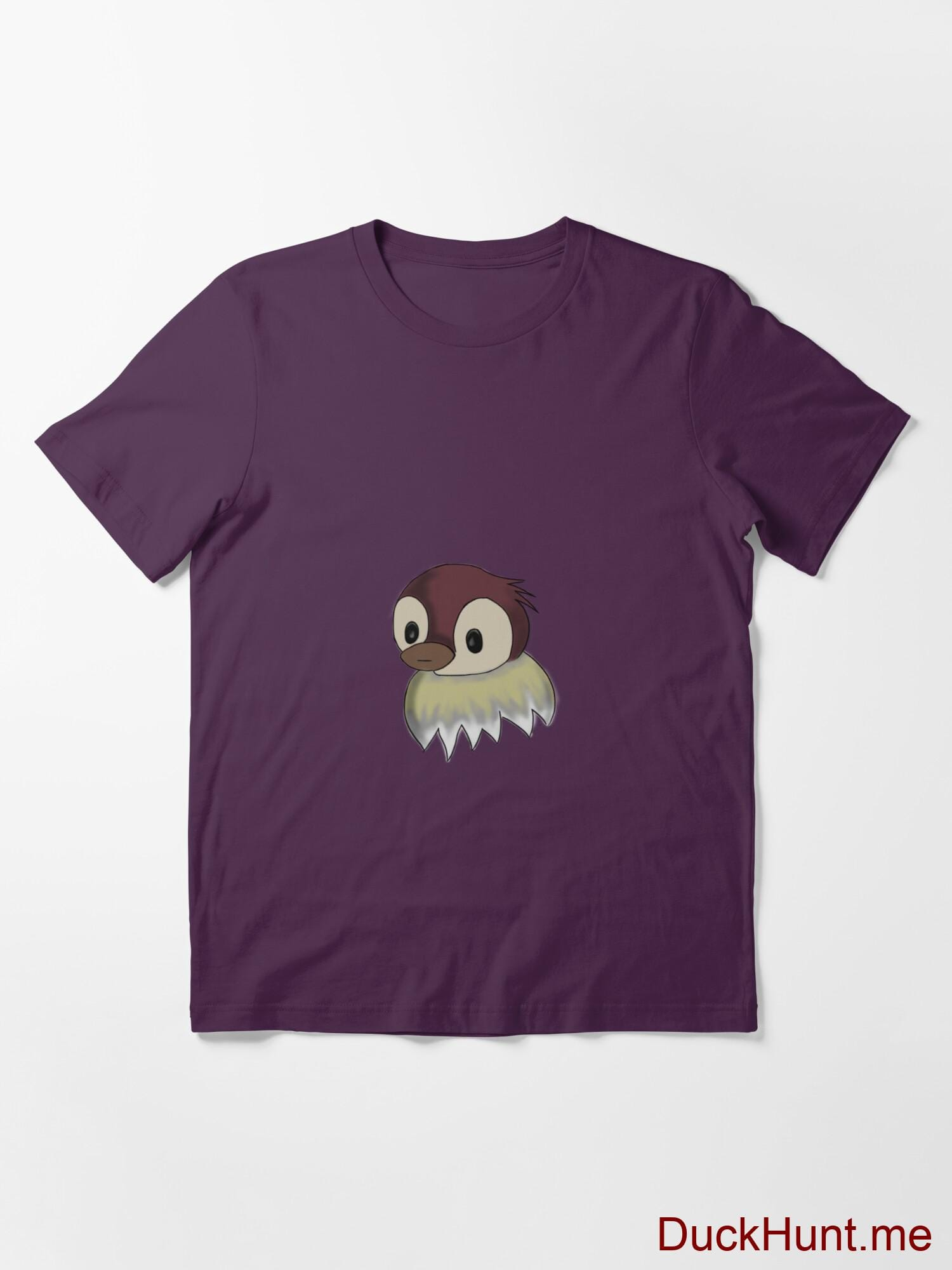 Ghost Duck (fogless) Eggplant Essential T-Shirt (Front printed) alternative image 2