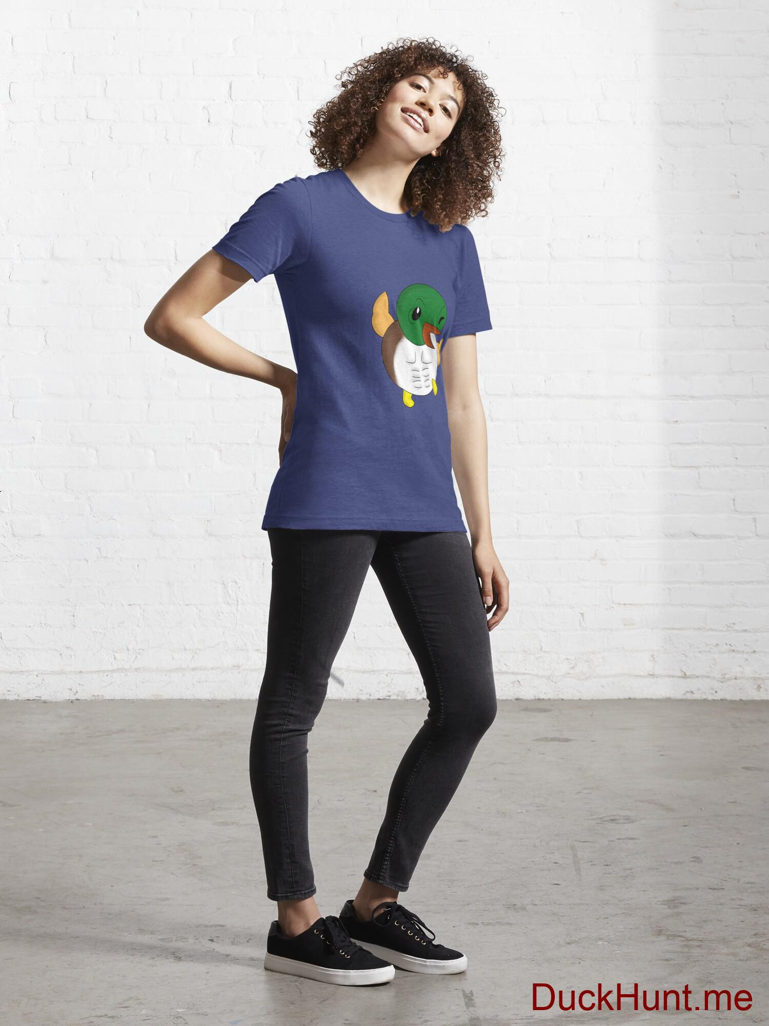 Super duck Blue Essential T-Shirt (Front printed) alternative image 3