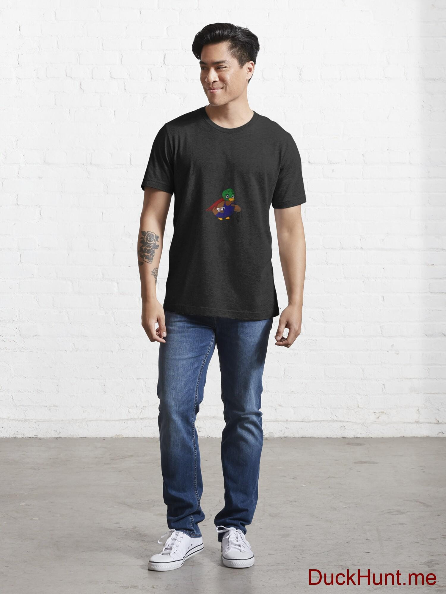 Dead DuckHunt Boss (smokeless) Black Essential T-Shirt (Front printed) alternative image 4