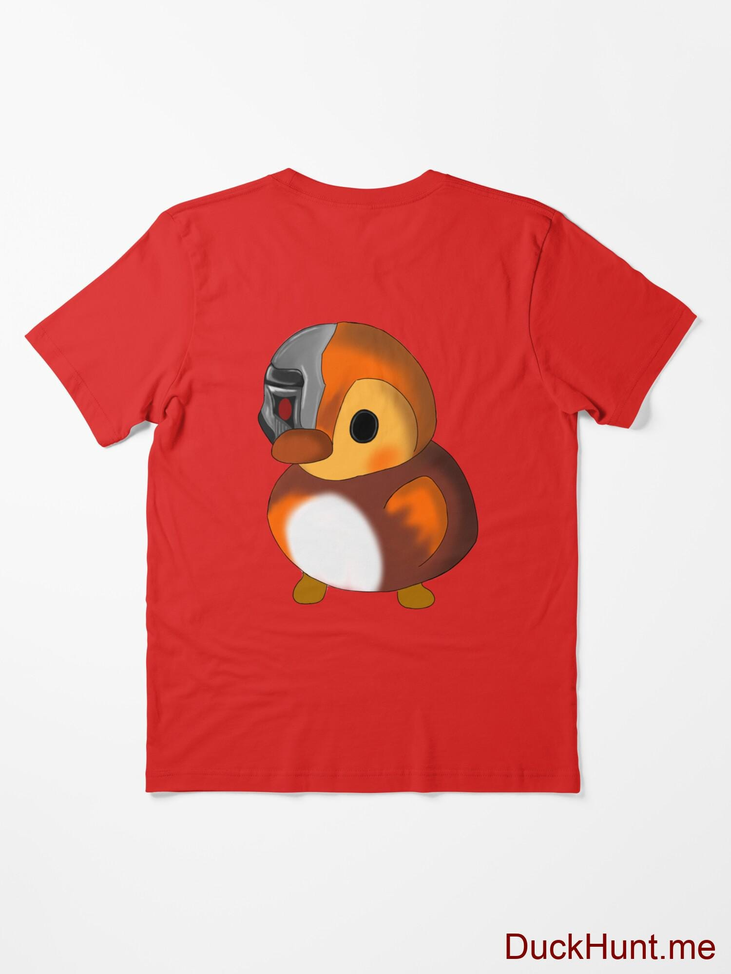 Mechanical Duck Red Essential T-Shirt (Back printed) alternative image 1