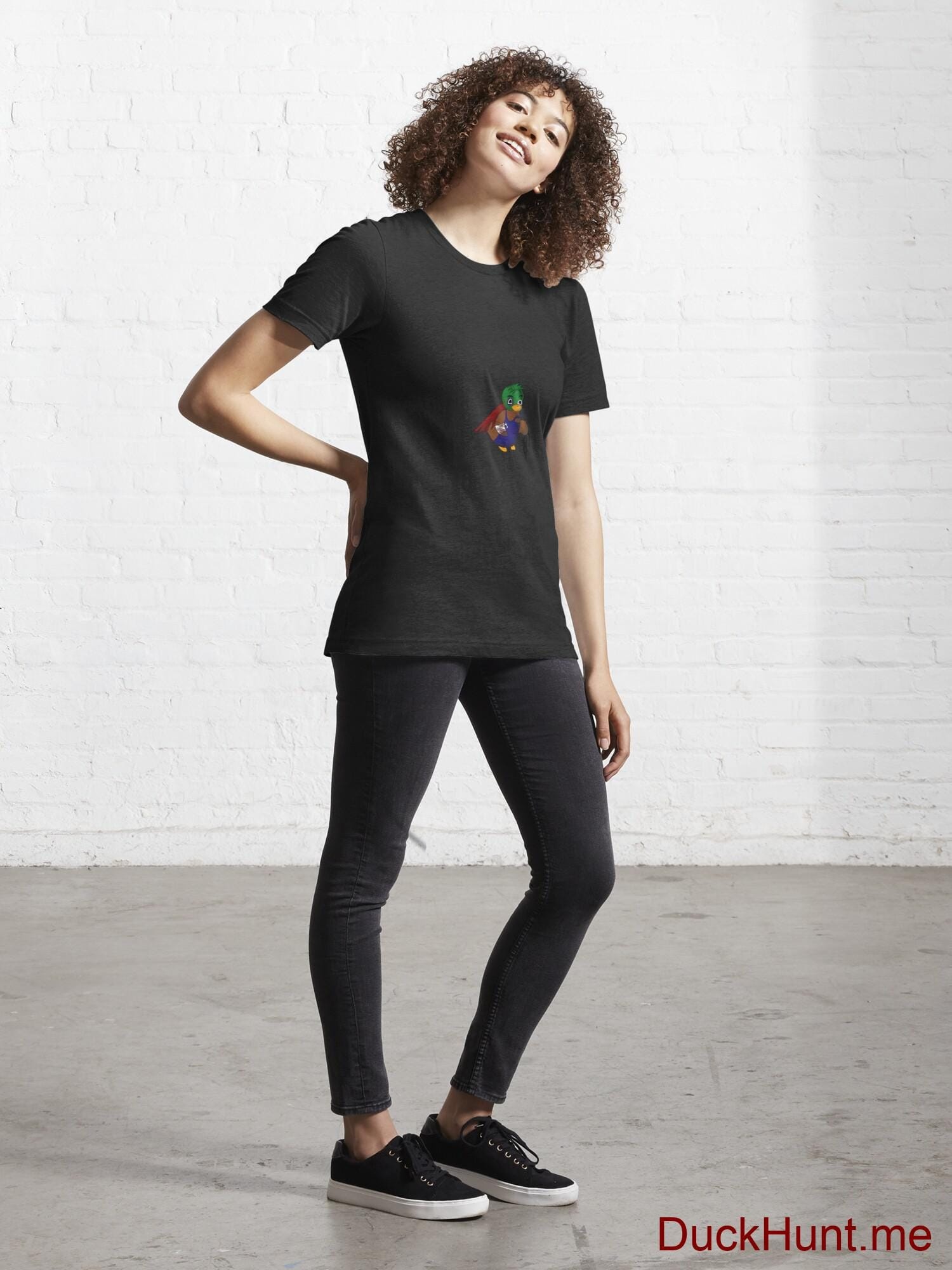 Dead DuckHunt Boss (smokeless) Black Essential T-Shirt (Front printed) alternative image 3