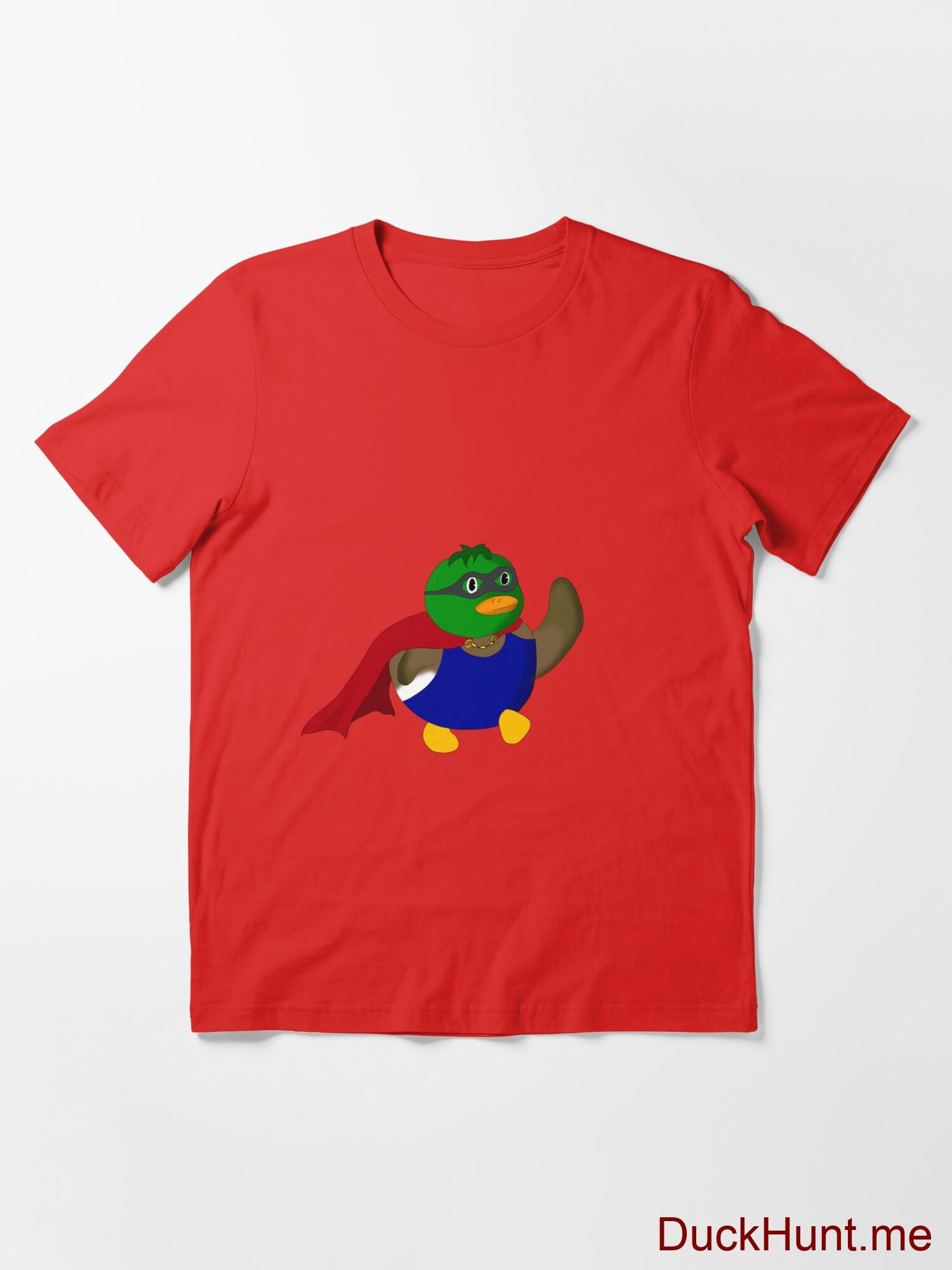 Alive Boss Duck Red Essential T-Shirt (Front printed) alternative image 2