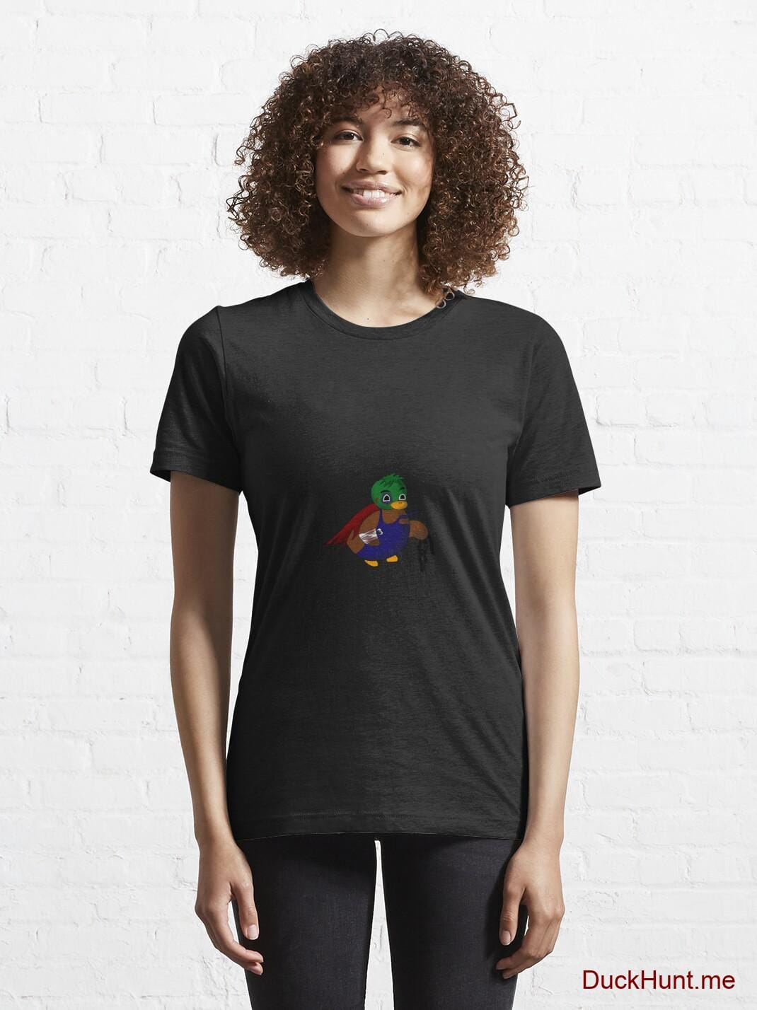 Dead DuckHunt Boss (smokeless) Black Essential T-Shirt (Front printed) alternative image 5