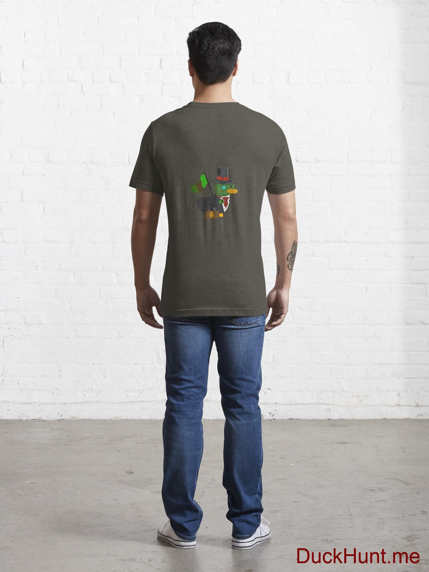 Golden Duck Army Essential T-Shirt (Back printed) alternative image 3