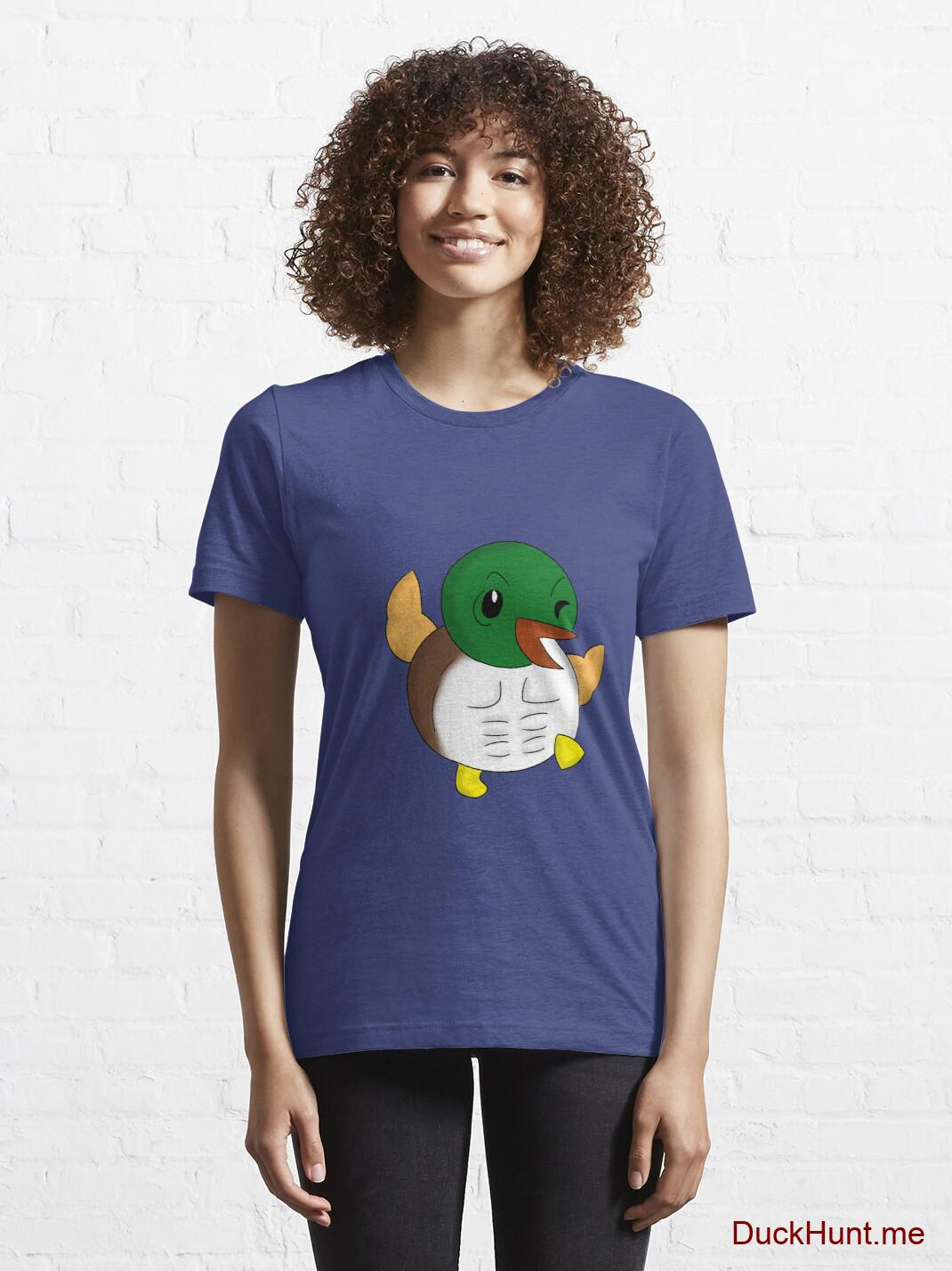 Super duck Blue Essential T-Shirt (Front printed) alternative image 5