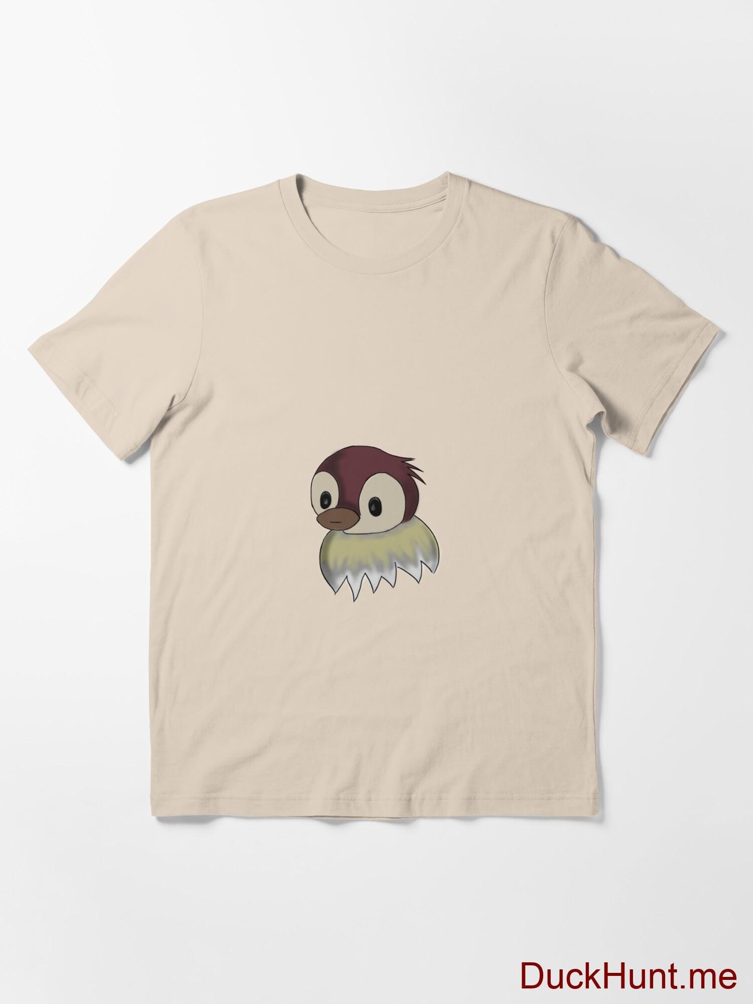 Ghost Duck (fogless) Creme Essential T-Shirt (Front printed) alternative image 2