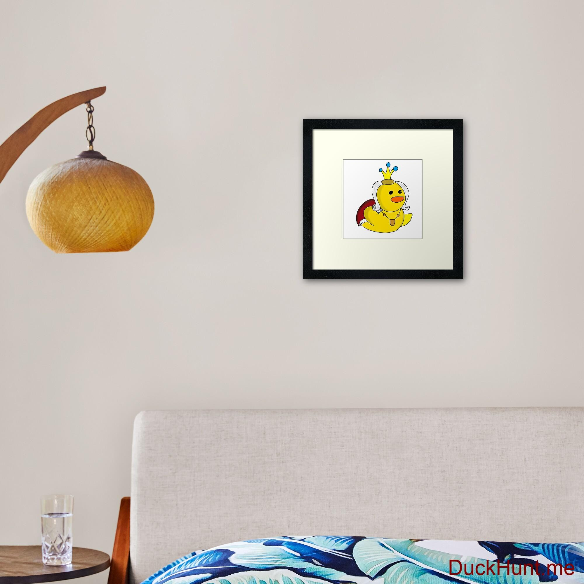 Royal Duck Framed Art Print